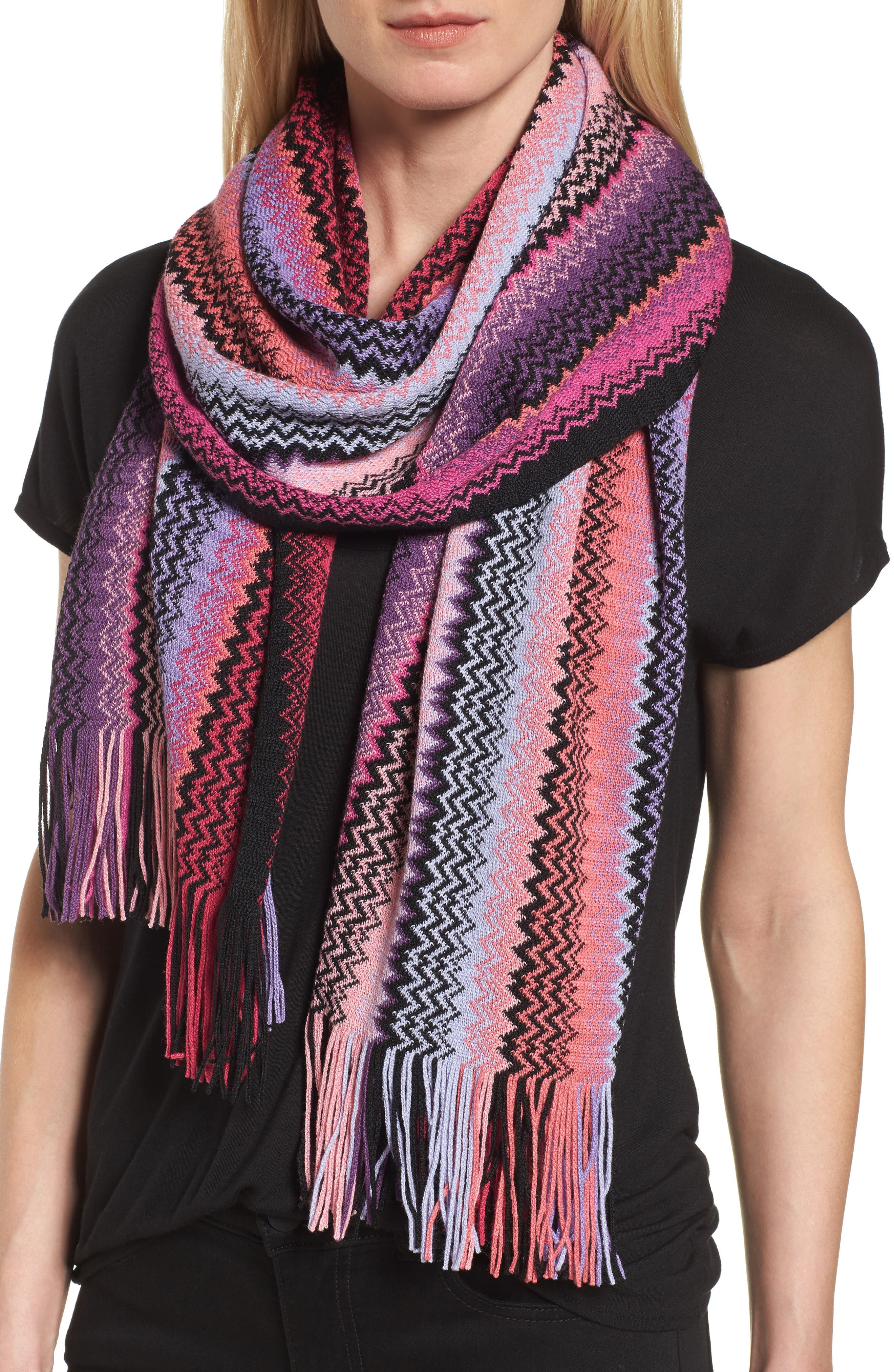 Missoni Wool Blend Zigzag Scarf (Nordstrom Exclusive)