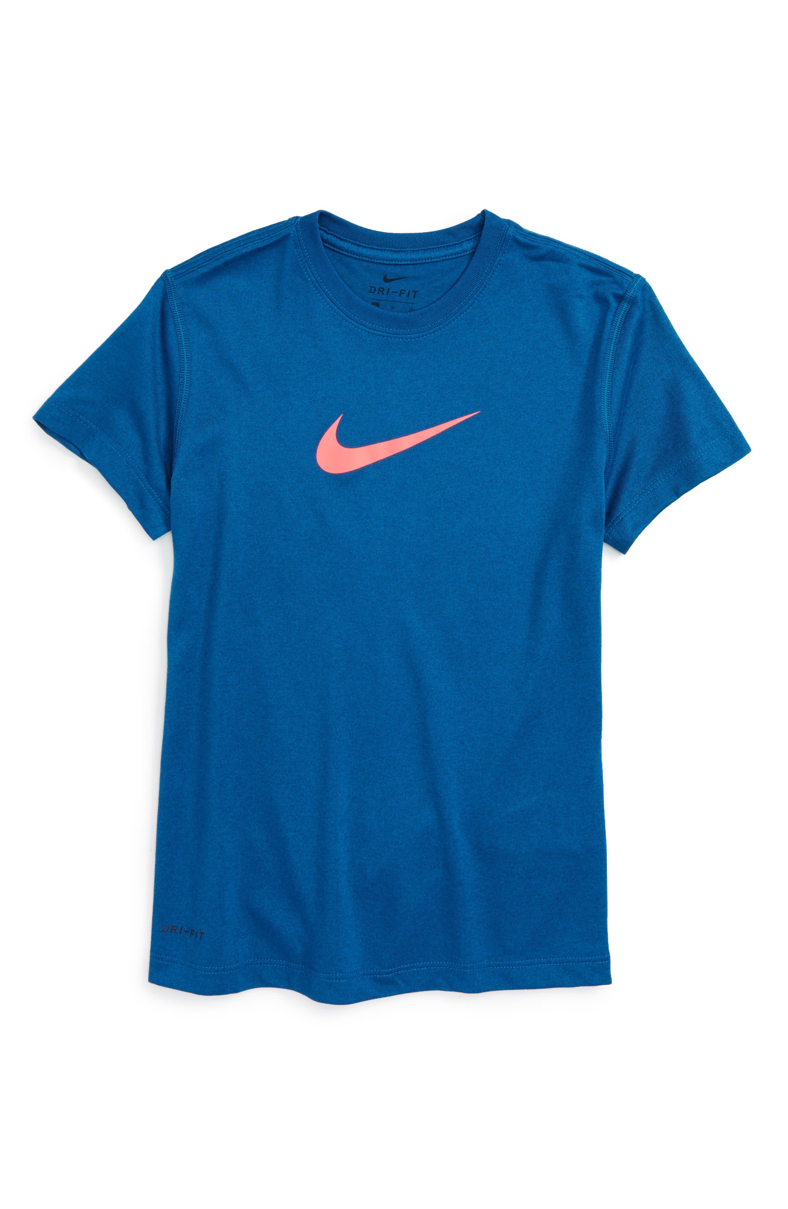 Alternate Image 1 Selected - Nike 'Legend' Top (Big Girls)(Online Only)