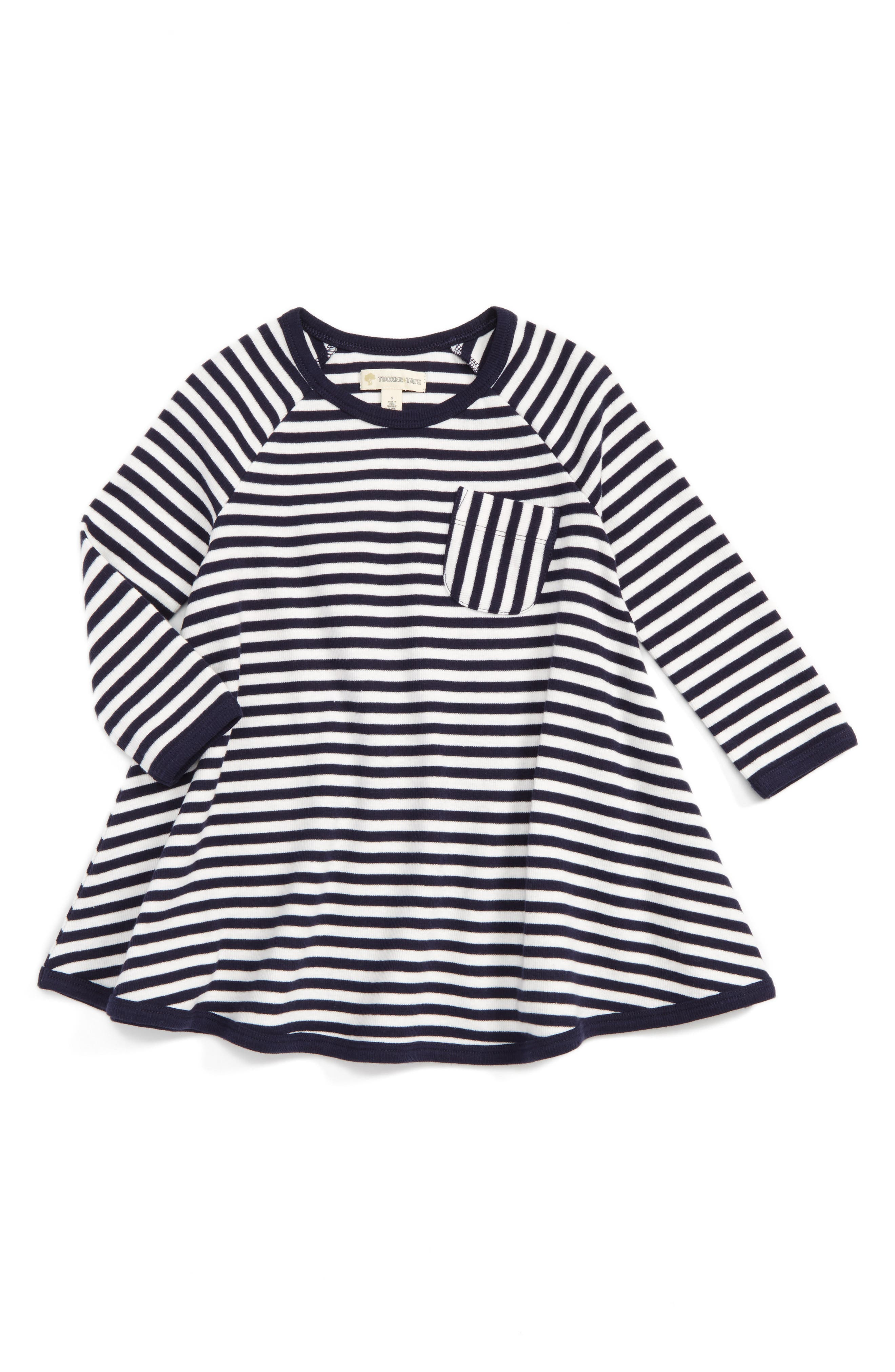 Tucker + Tate Swingy Stripe Tunic (Toddler Girls, Little Girls & Big Girls)