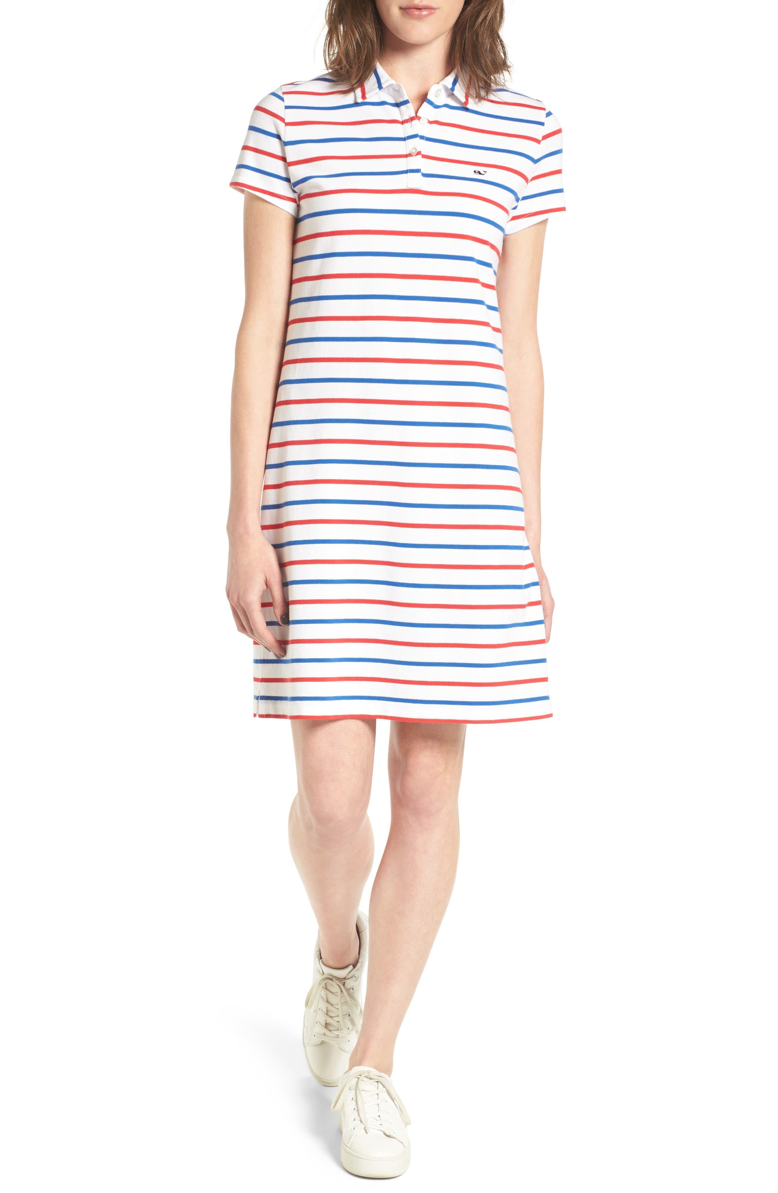 Vineyard Vines Stripe Polo Dress