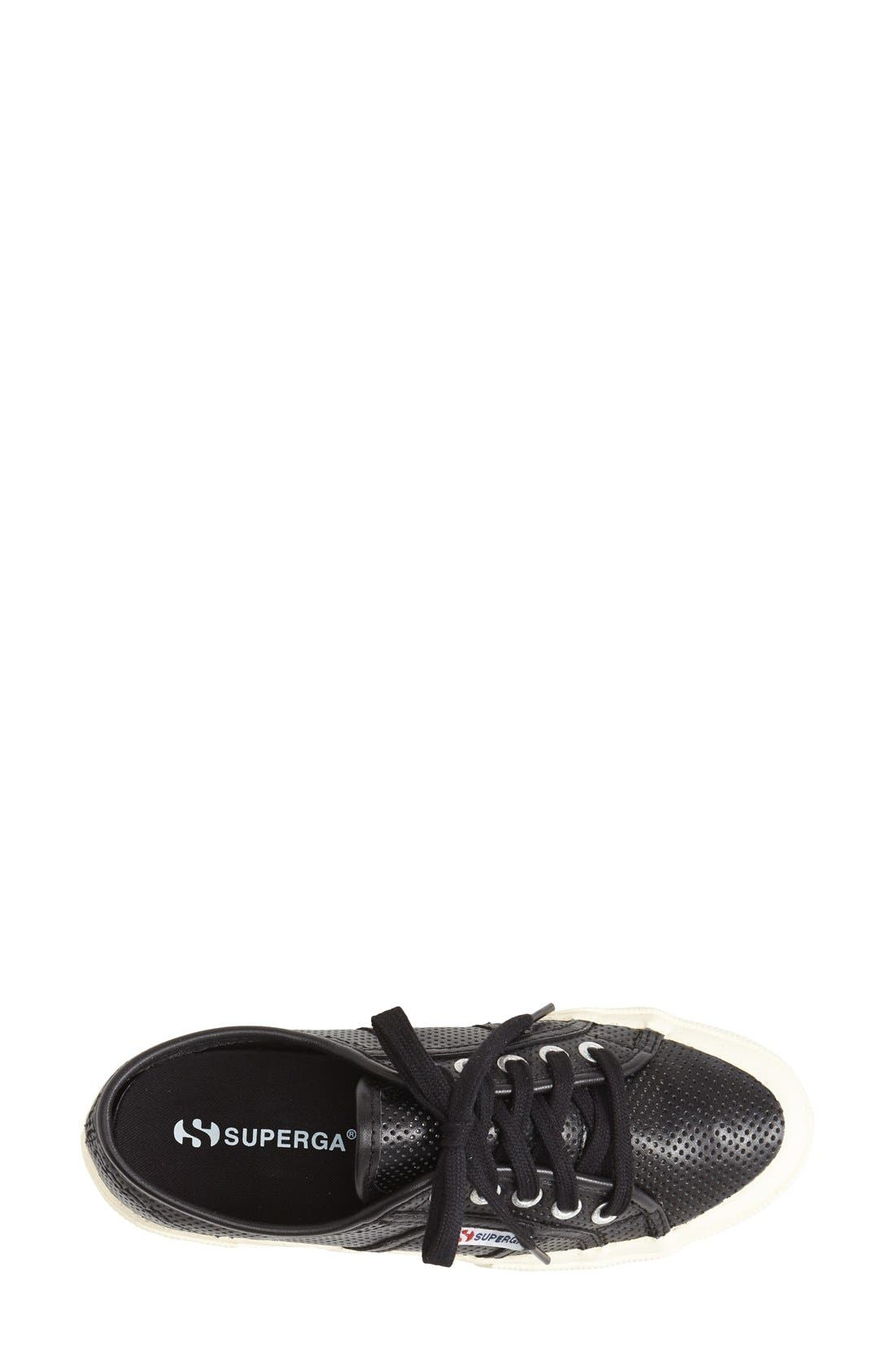 Alternate Image 3  - Superga 'Perforated Cotu' Leather Sneaker (Women)