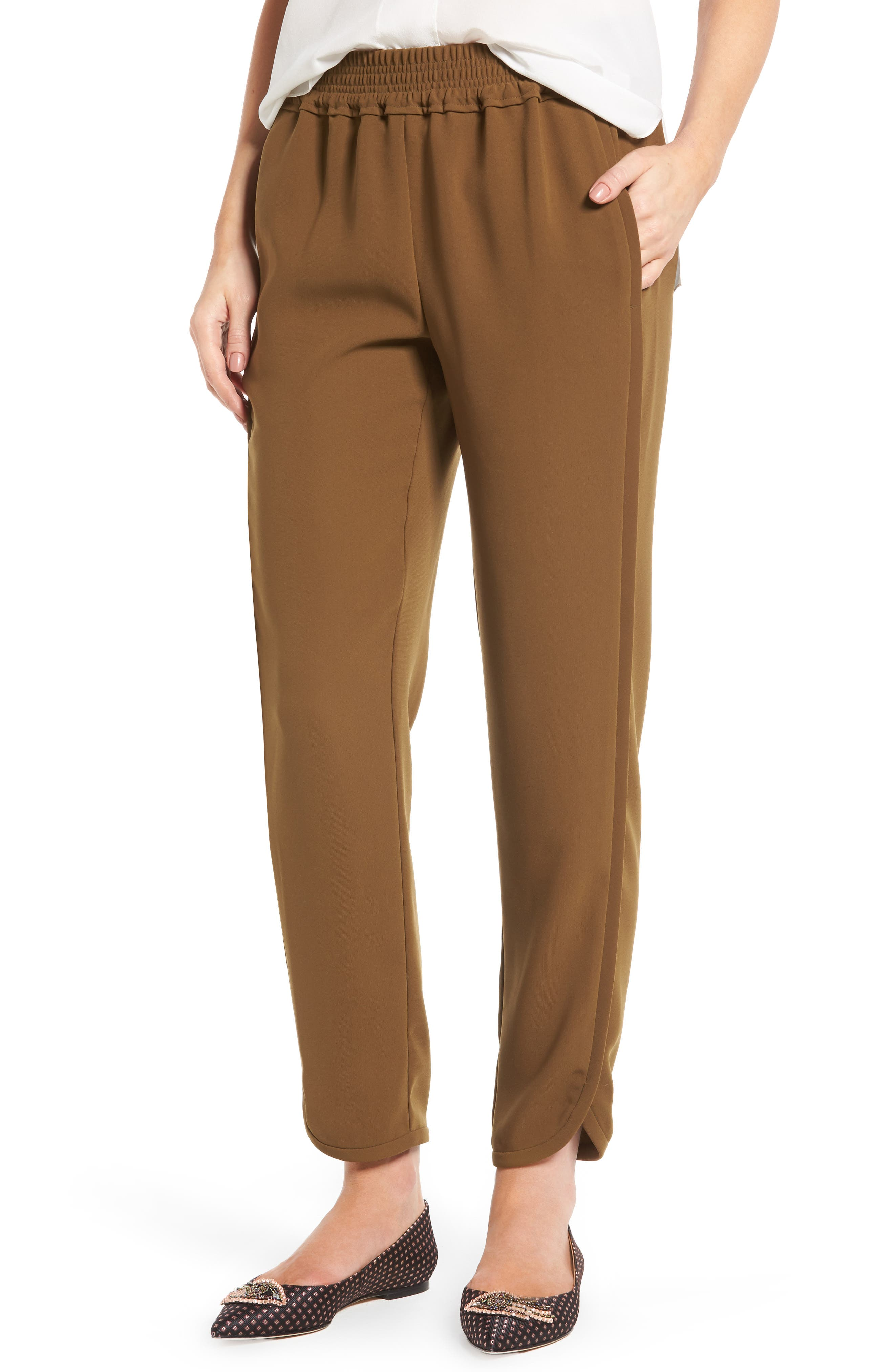 Alternate Image 1 Selected - J.Crew Reese Pants (Regular & Petite)
