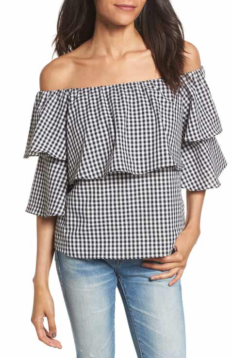 WAYF Gracie Off the Shoulder Top
