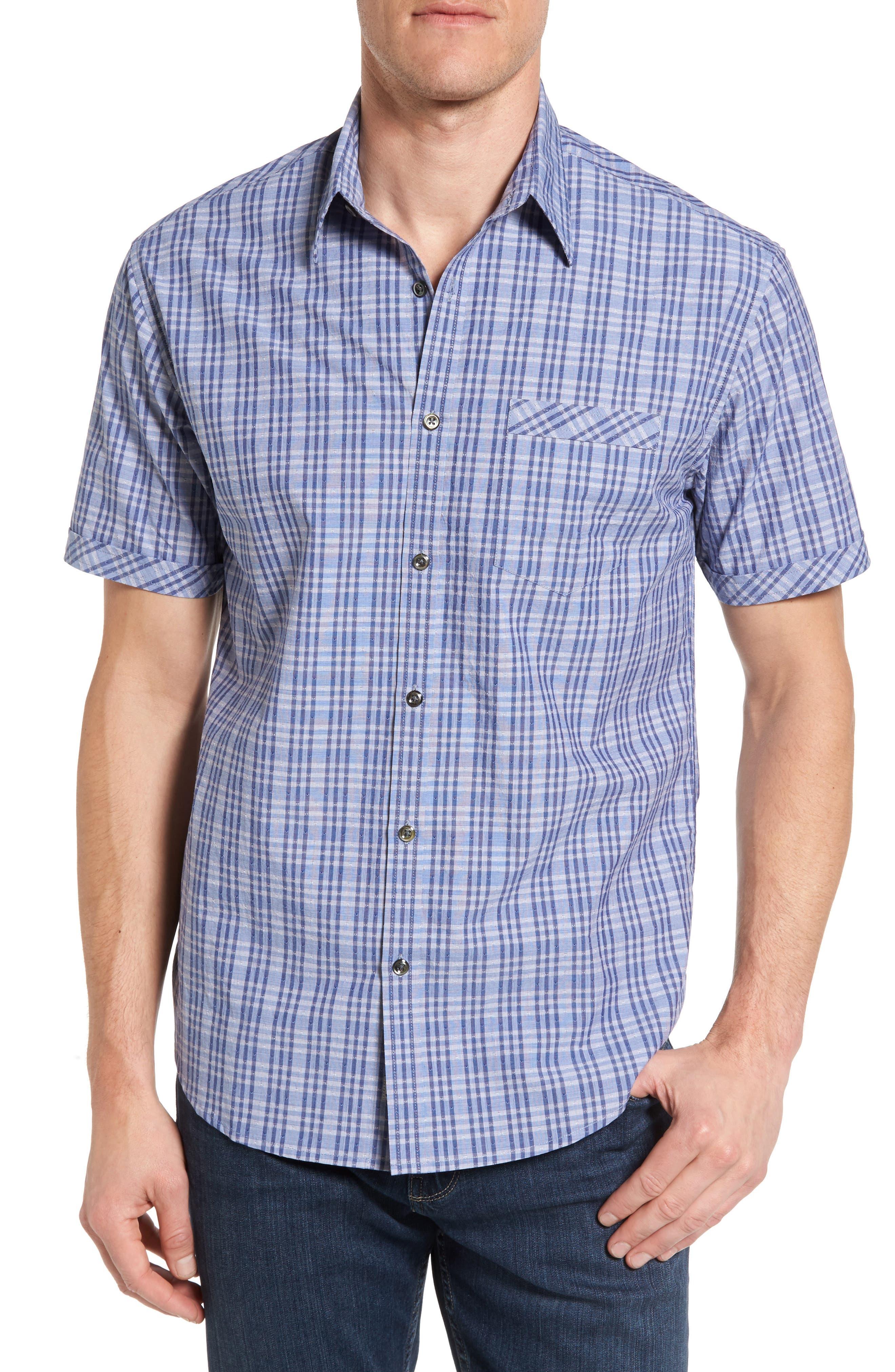 James Campbell Watson Regular Fit Short Sleeve Sport Shirt