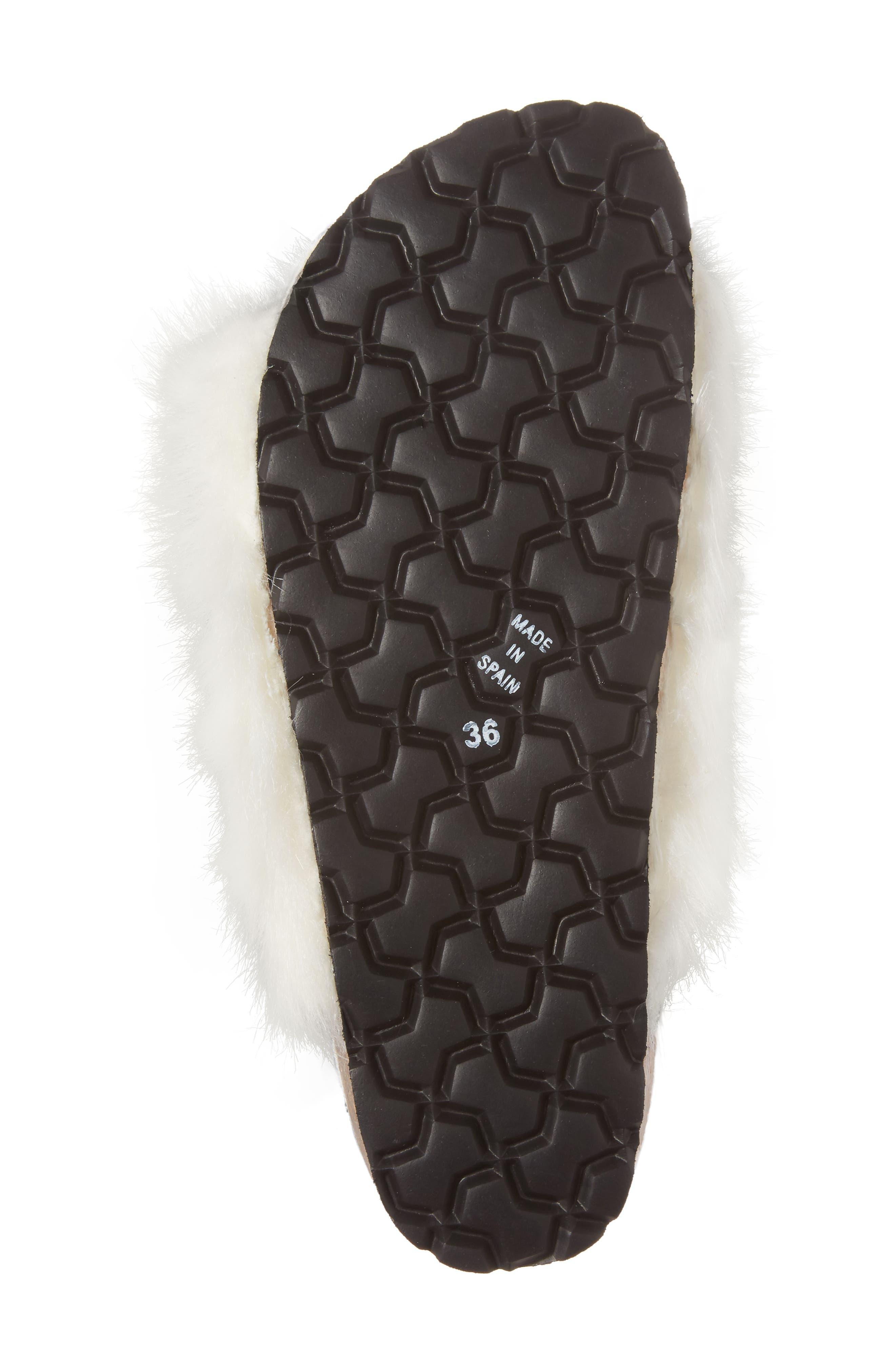 Alternate Image 6  - Topshop Falcon Faux Fur Slide Sandal (Women)