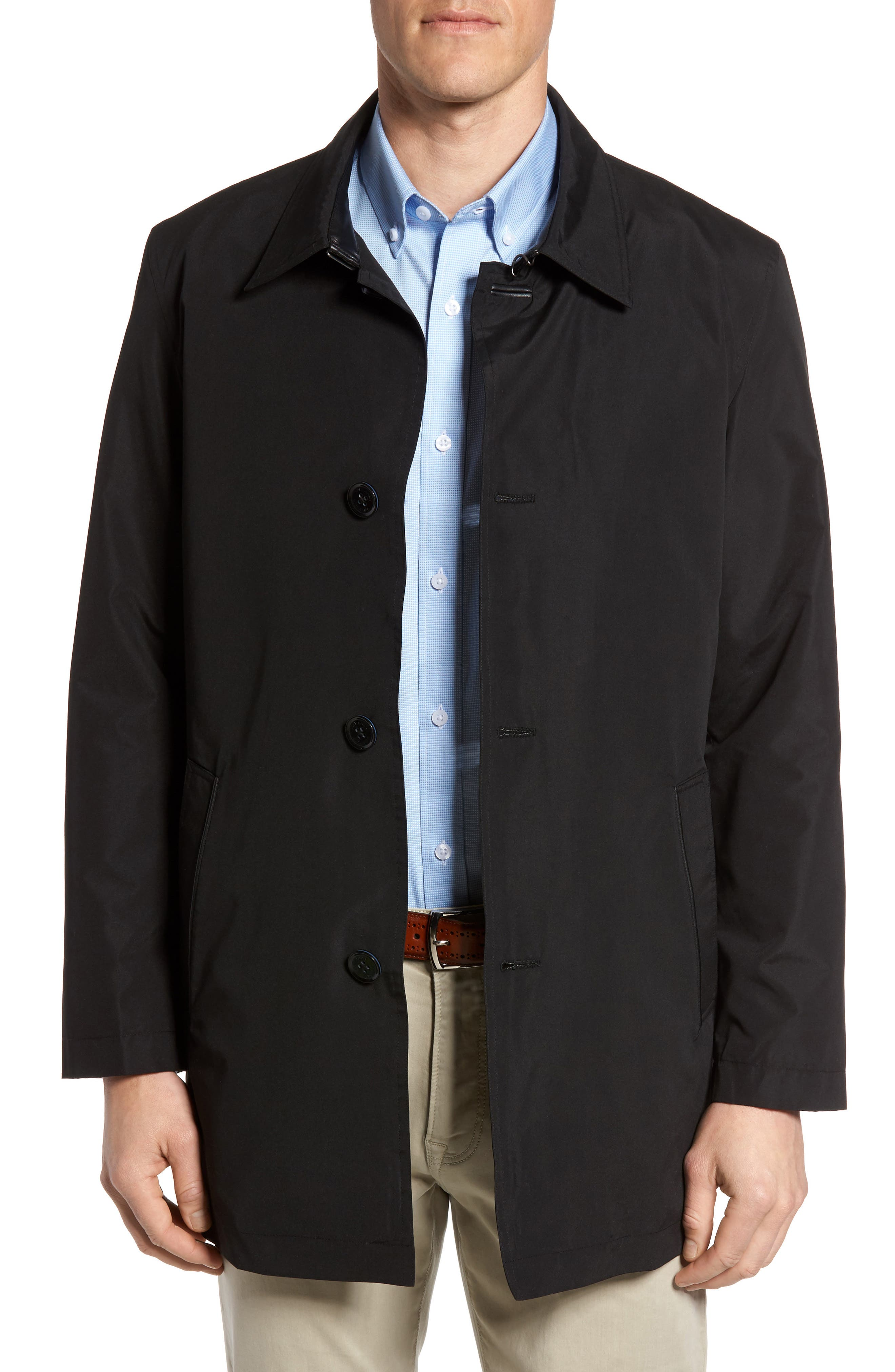 Cole Haan Water Resistant Car Coat