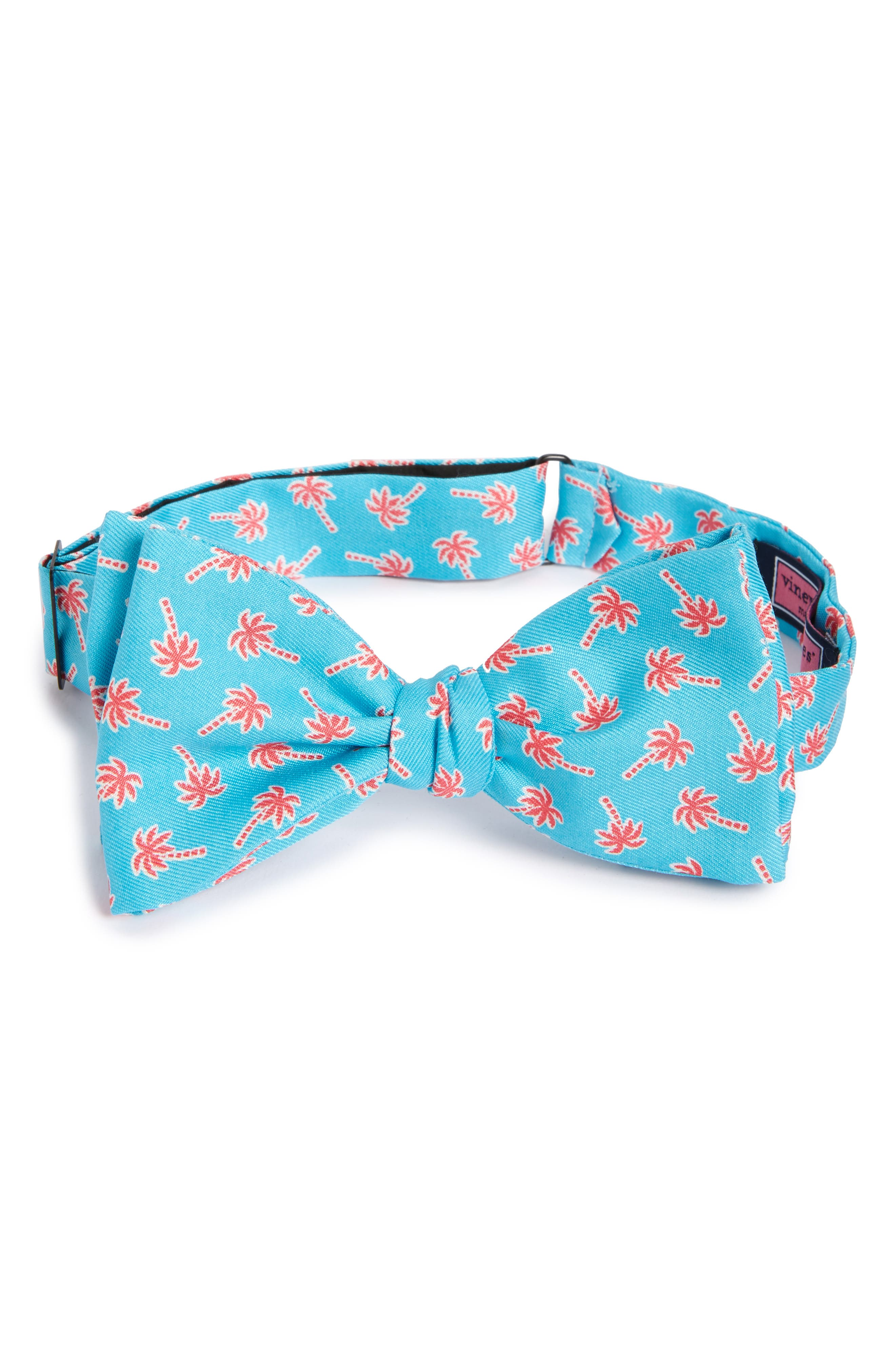 Vineyard Vines Palm Tree Silk Bow Tie