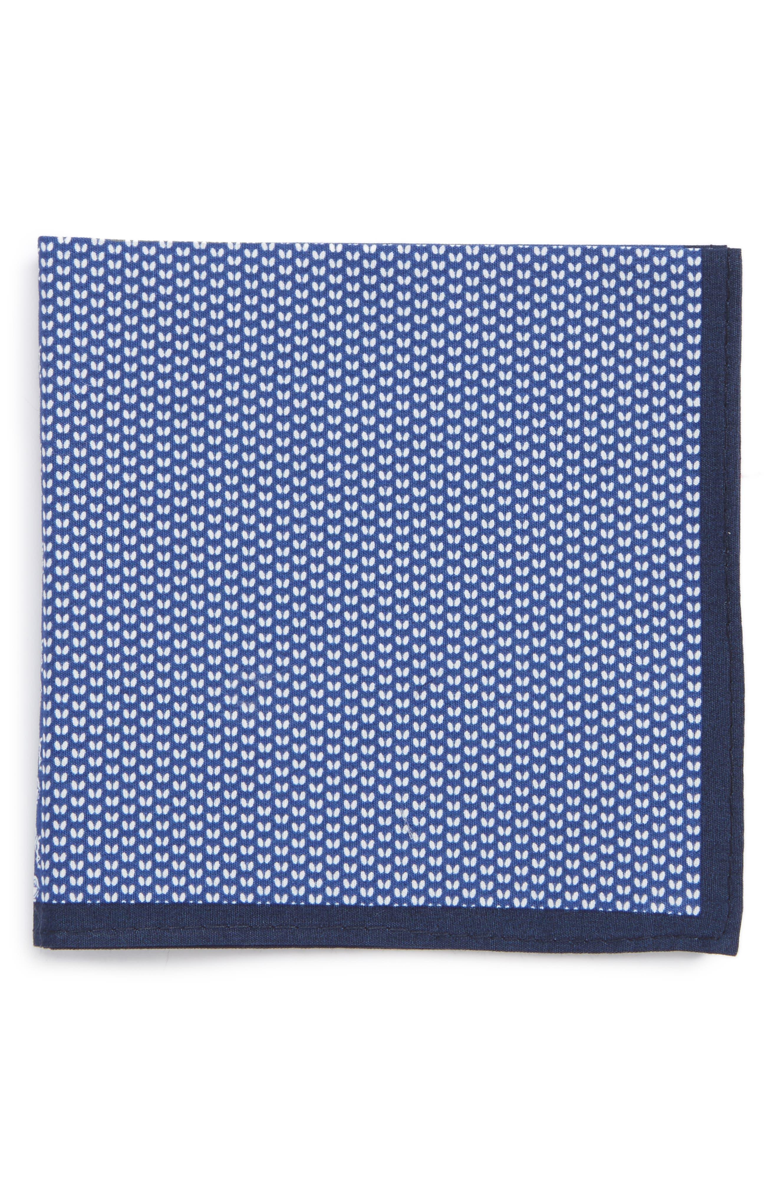 NORDSTROM Mixed Print Pocket Square