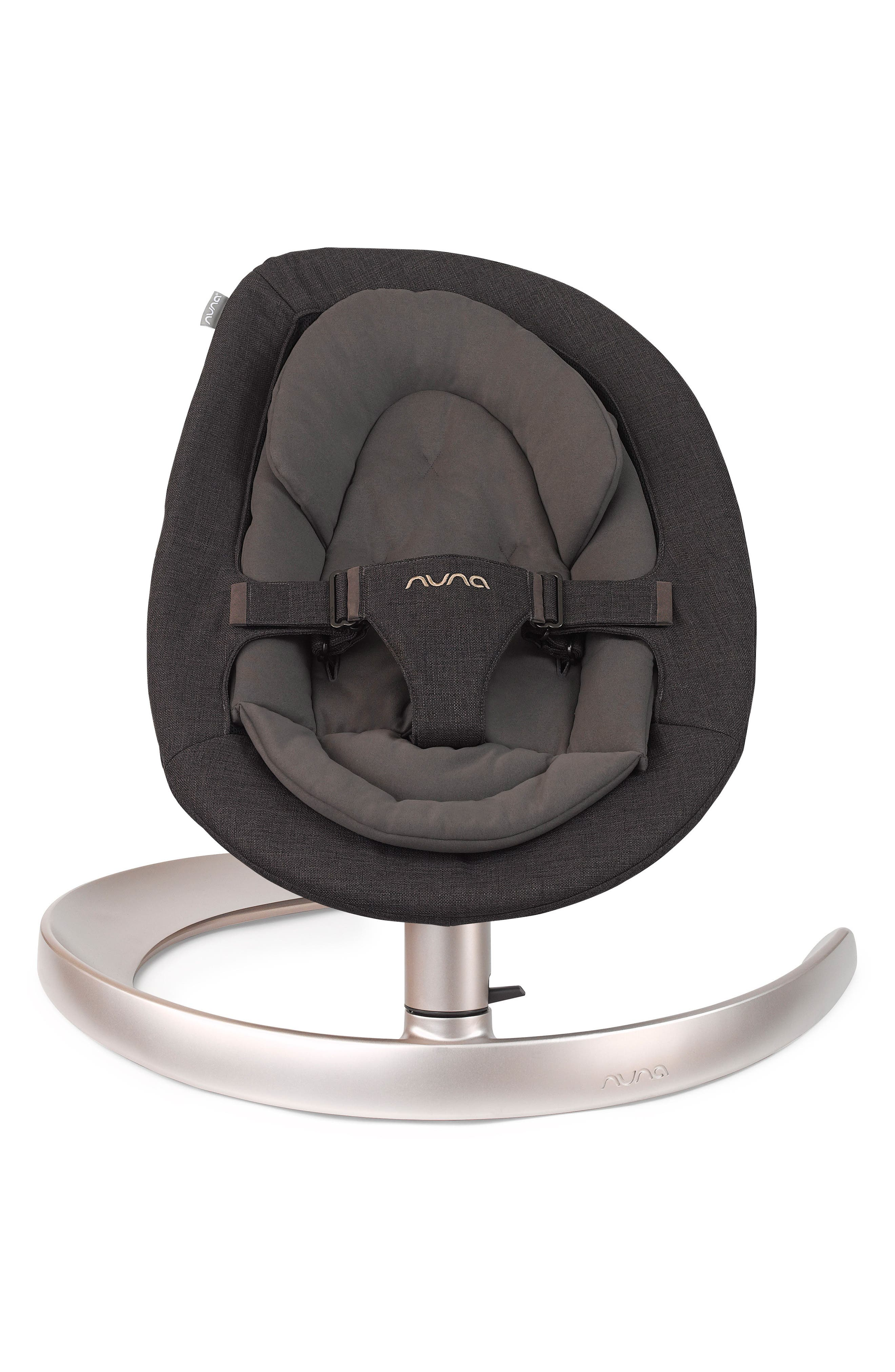 nuna LEAF™ Curv Suited Collection Swaying Baby Lounger Seat