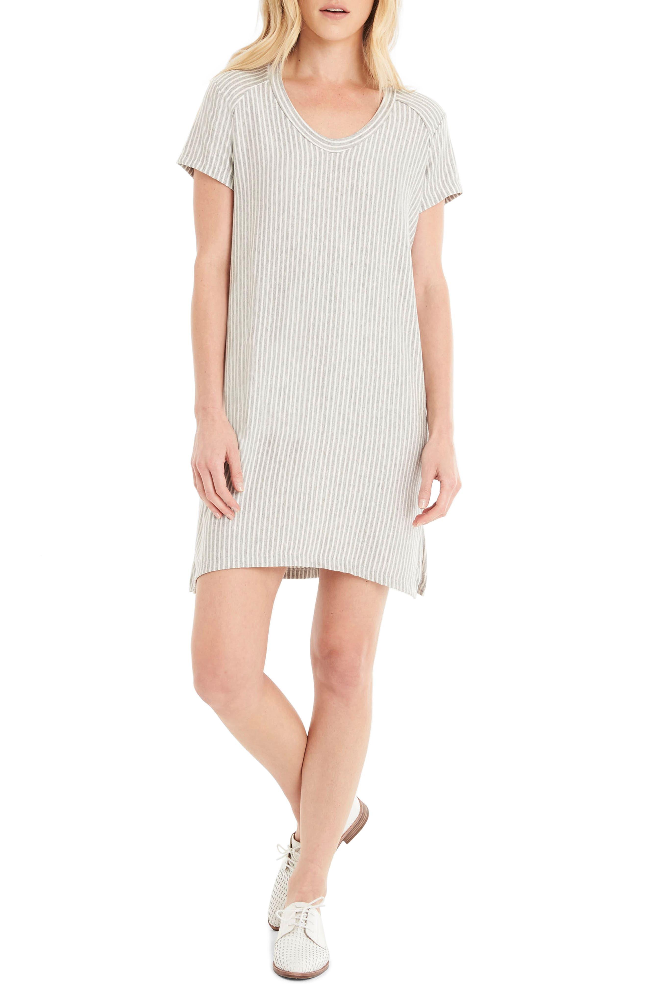 Michael Stars Stripe Sweatshirt Dress