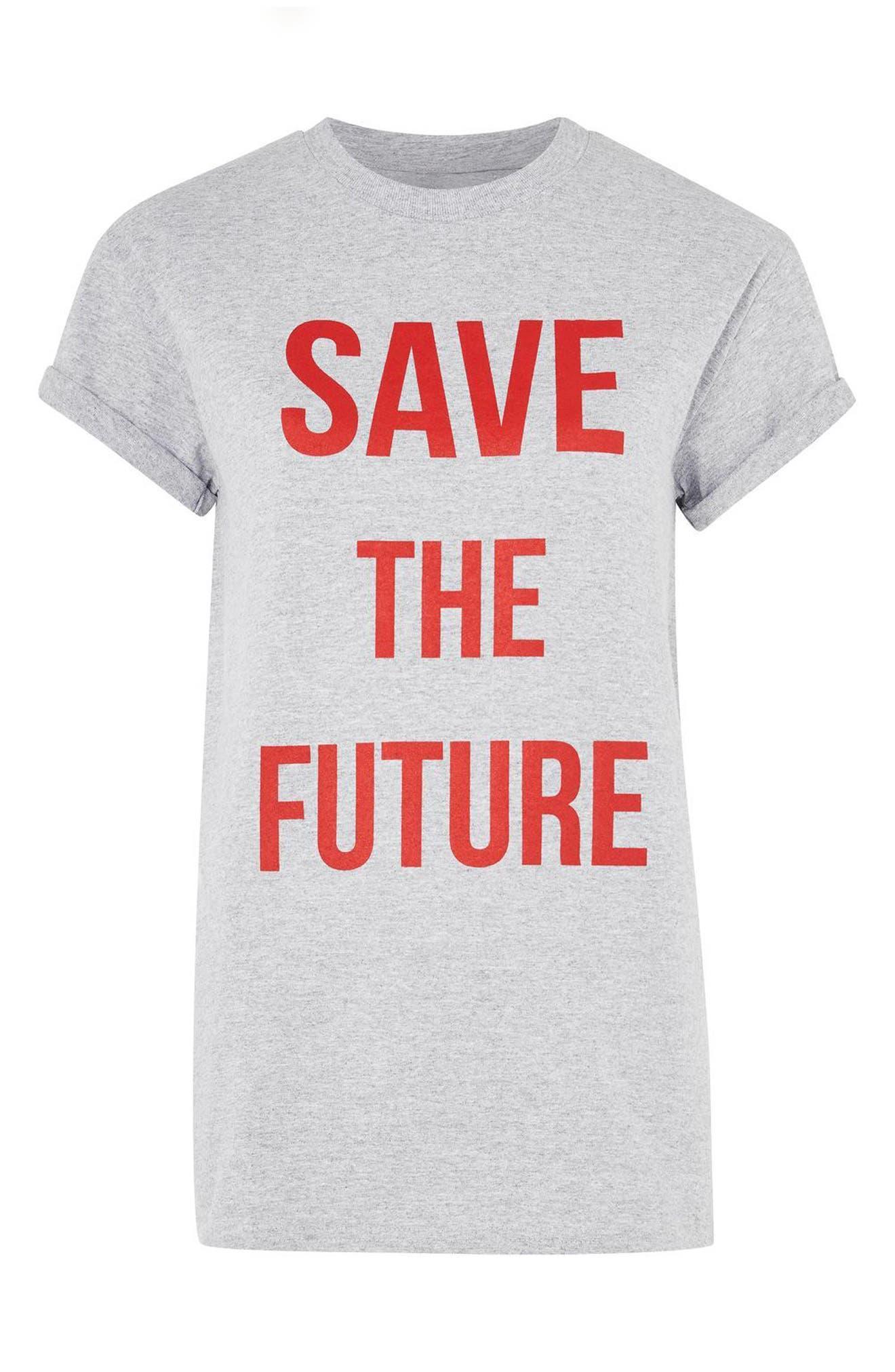 Alternate Image 4  - Topshop Save the Future Tee