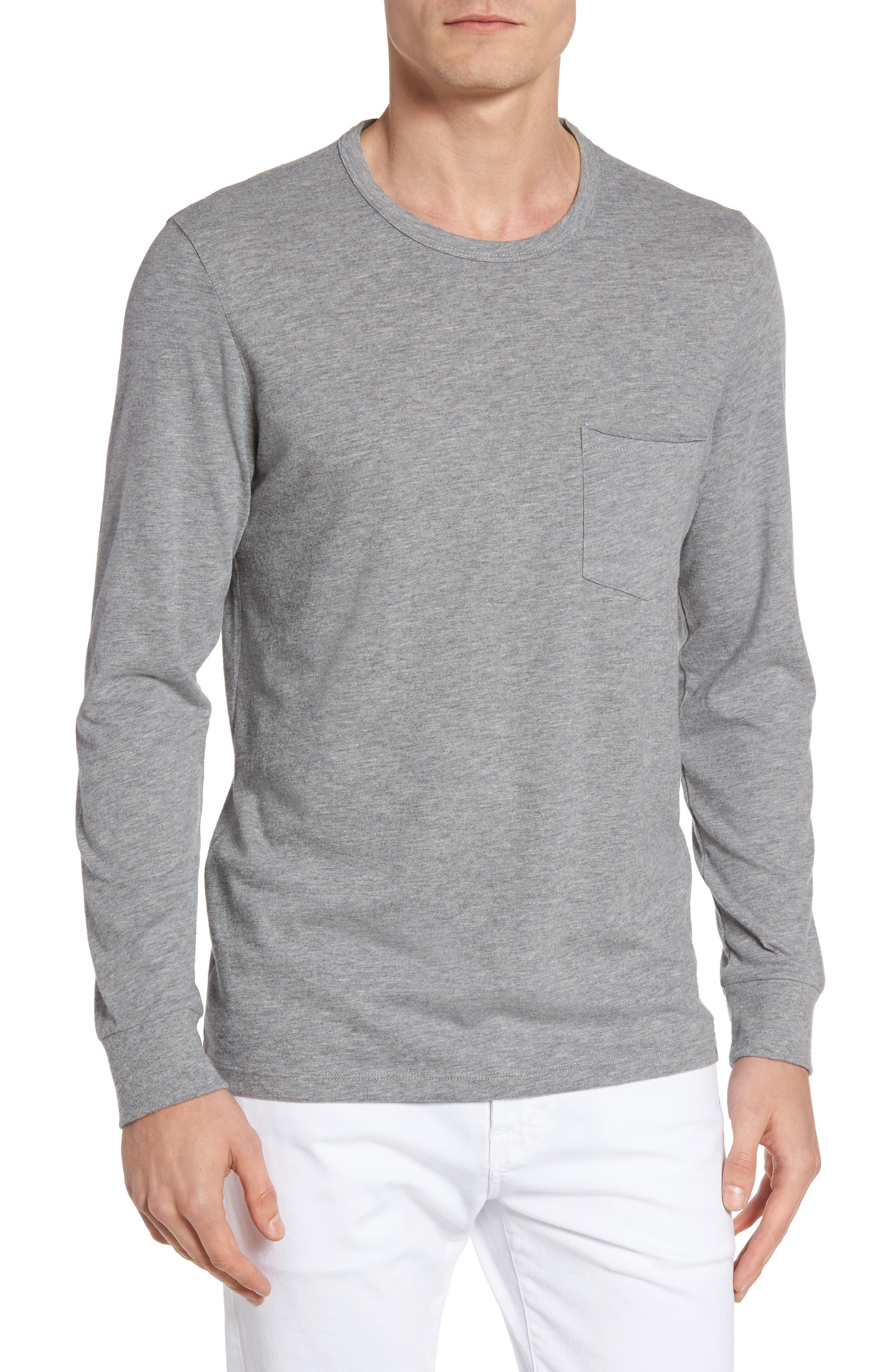 Jason Scott Yale Long Sleeve Pocket T-Shirt