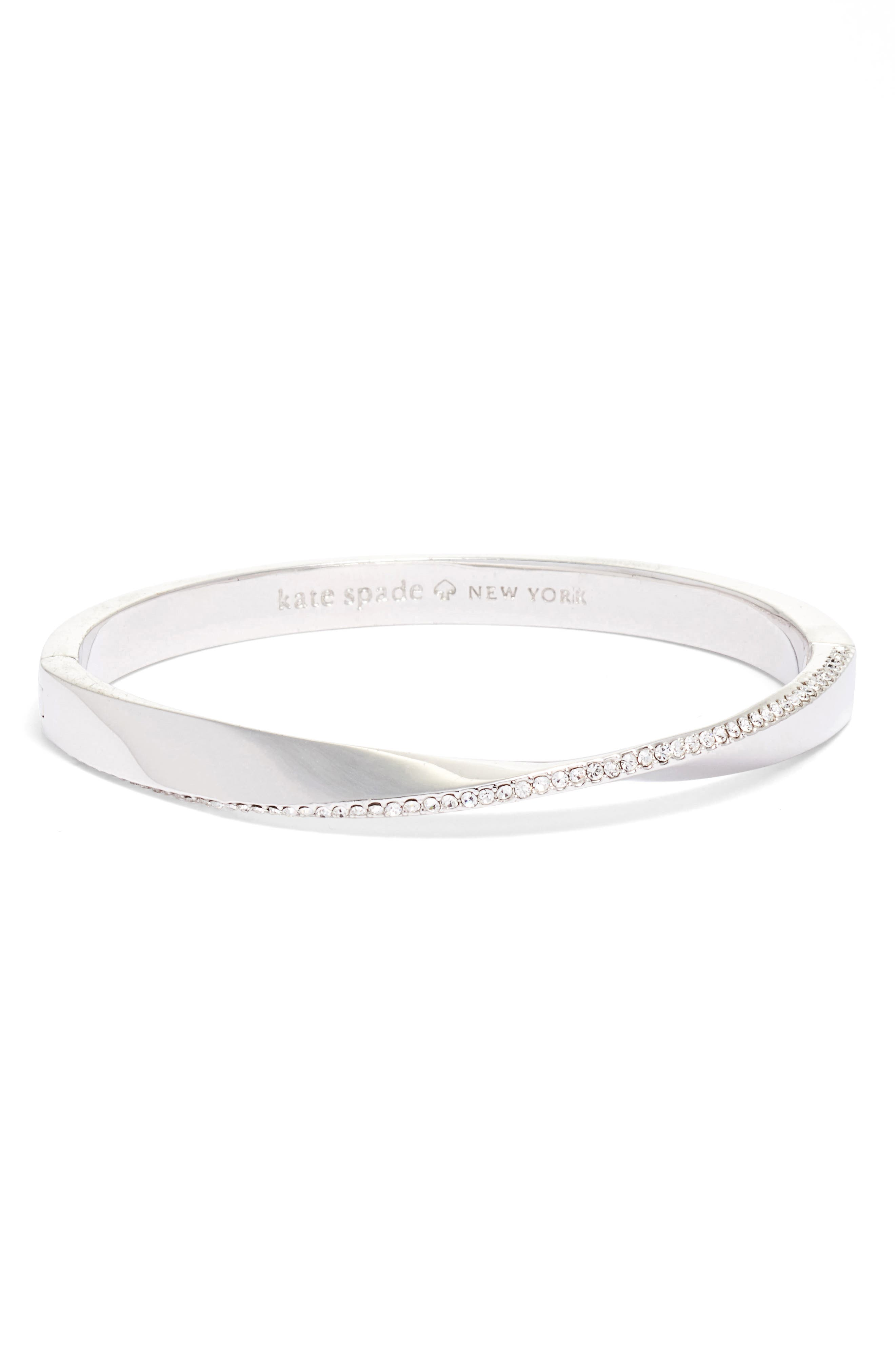 kate spade new york do the twist pavé bangle