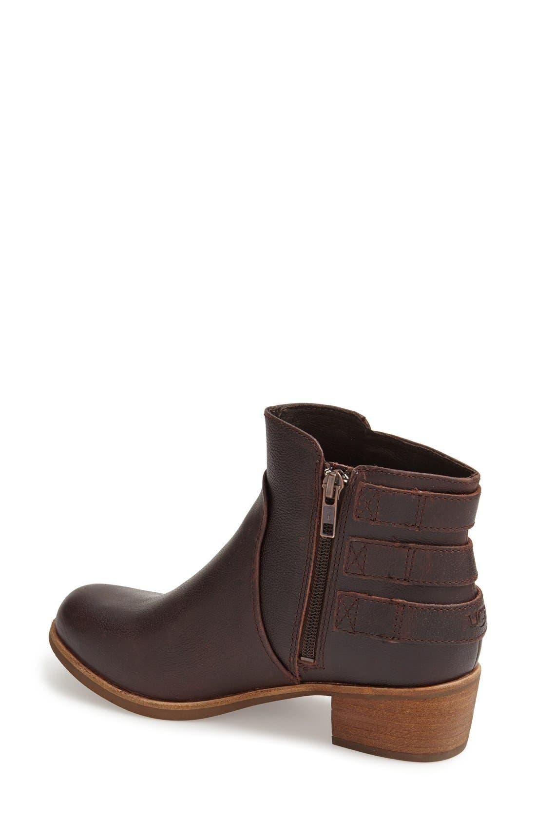 Alternate Image 2  - UGG® Australia 'Volta' Leather Ankle Boot (Women)