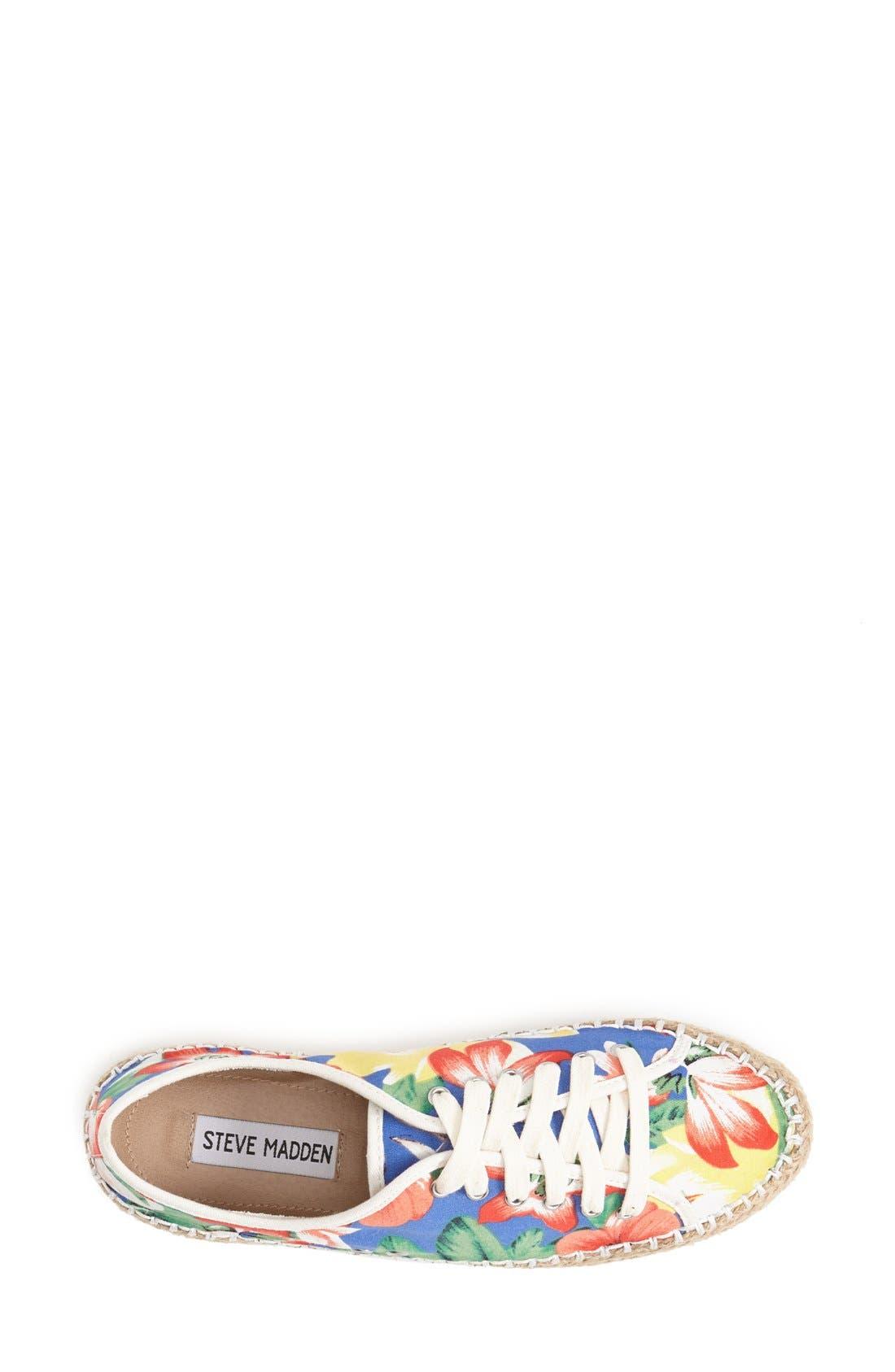 Alternate Image 3  - Steve Madden 'Broadwlk' Espadrille Sneaker (Women)