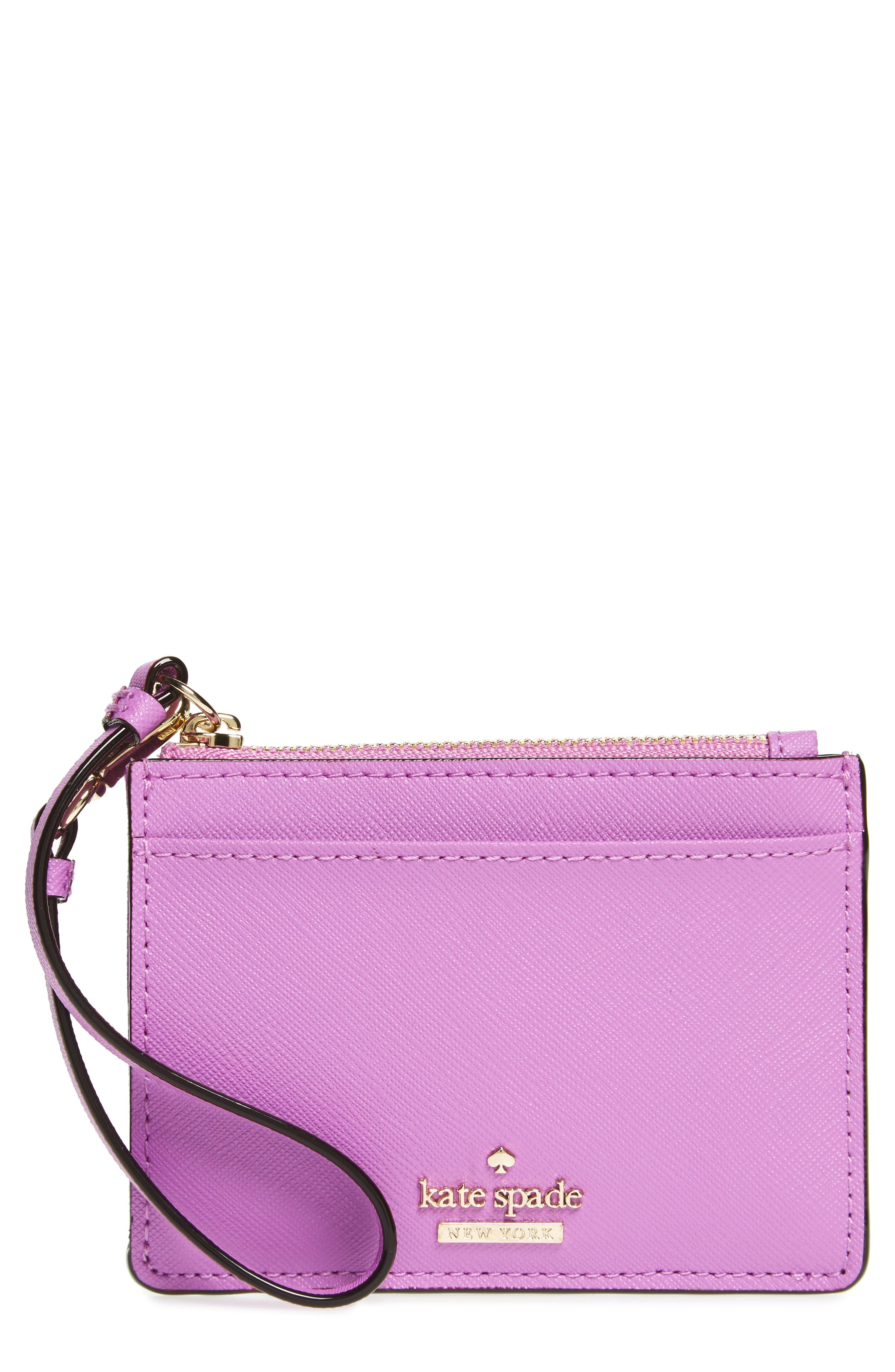kate spade new york cameron street - mellody leather card case