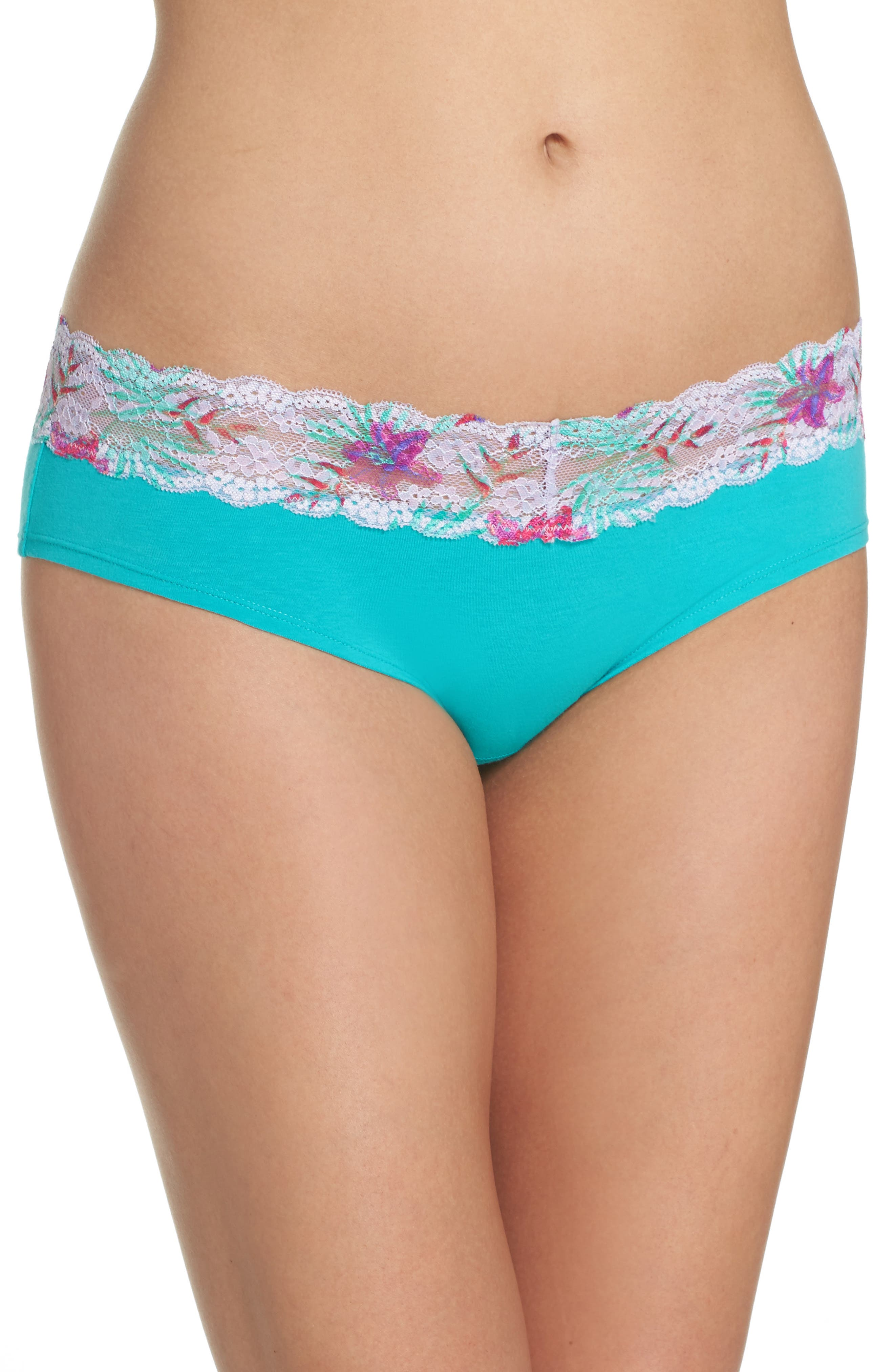 Alternate Image 1 Selected - h.dew 'Becca' Hipster Briefs (5 for $30)