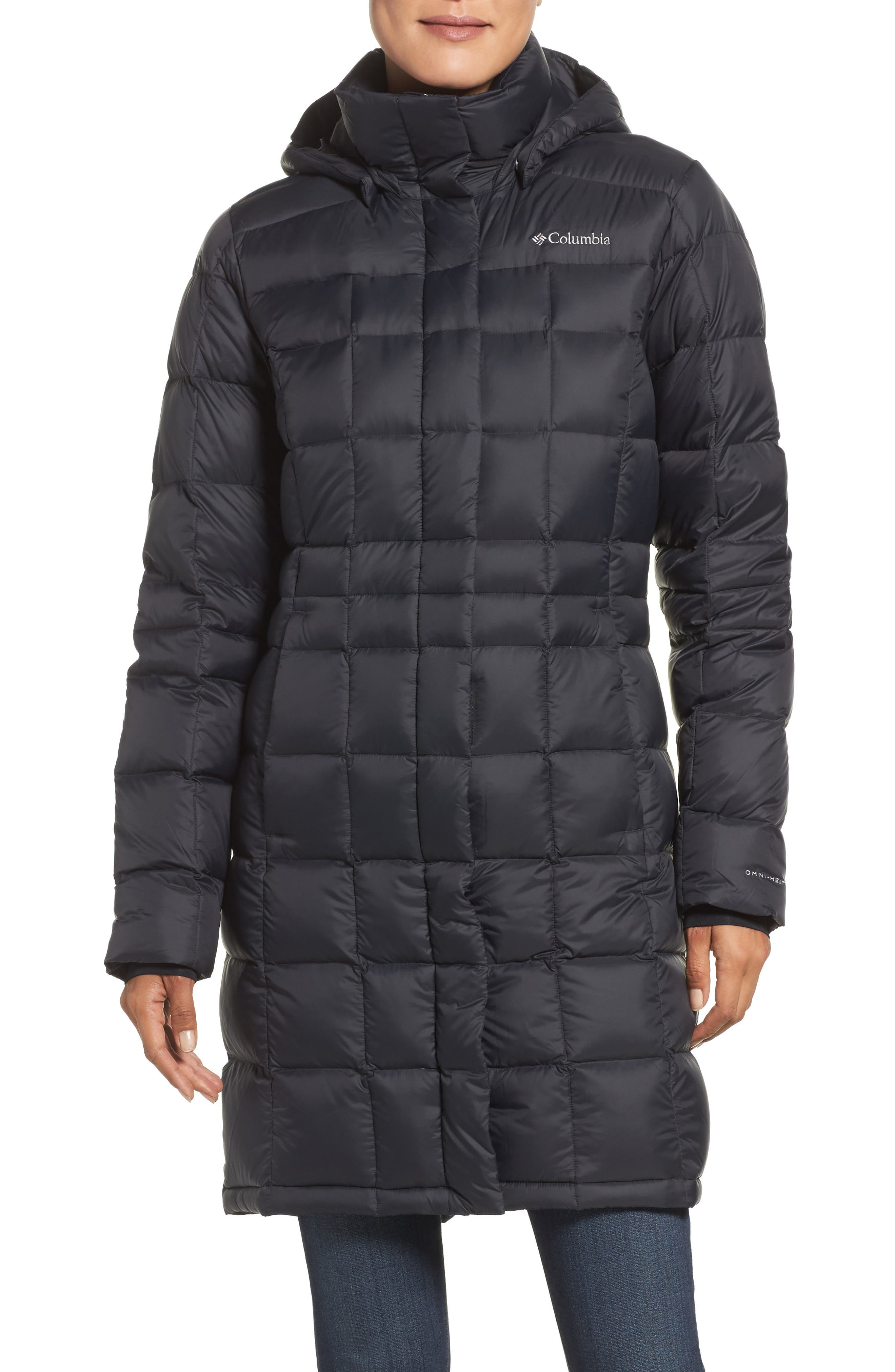 Columbia Hexbreaker Water Resistant Down Jacket
