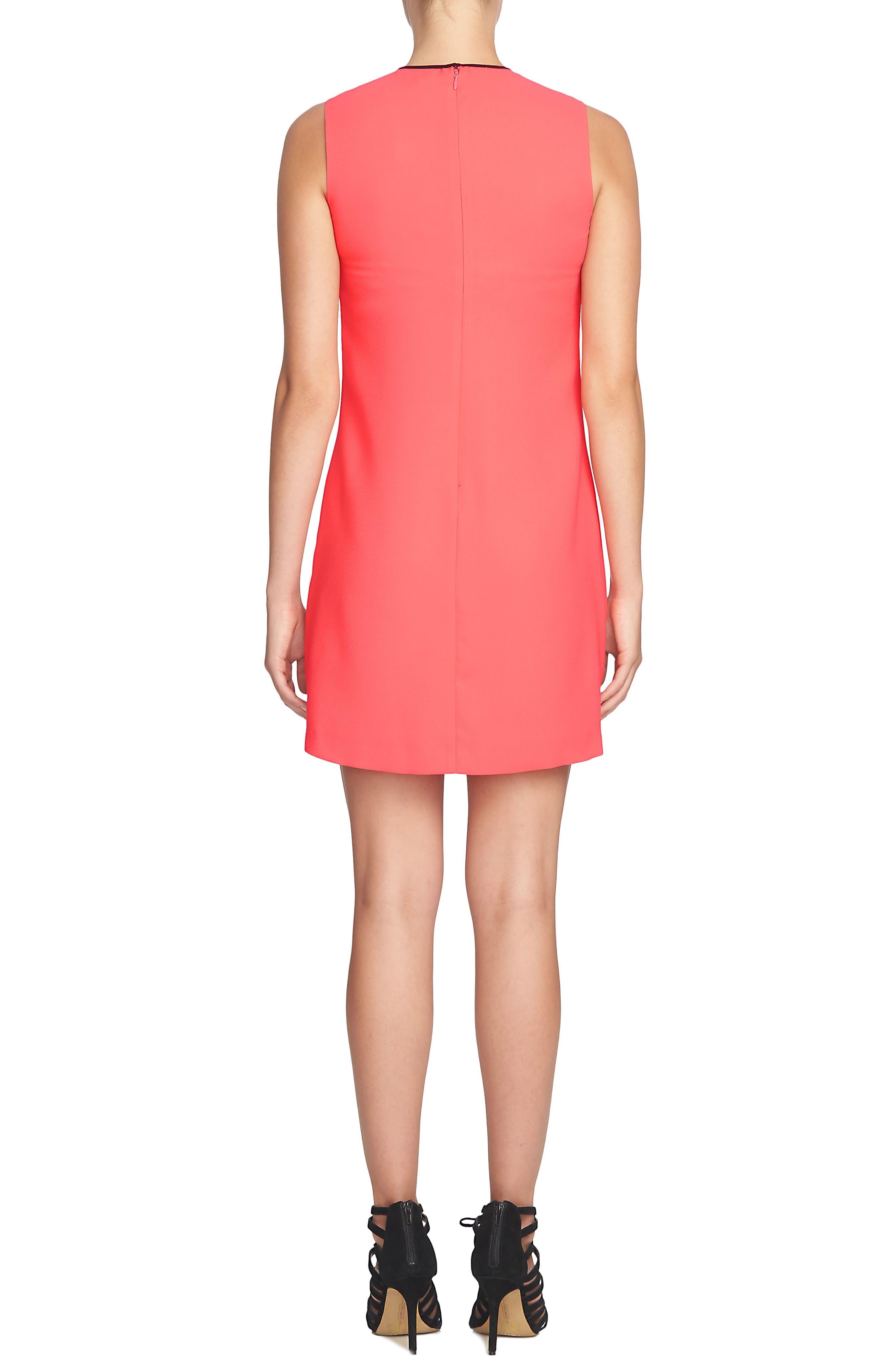Alternate Image 2  - Cece Rosie Tie Neck Dress