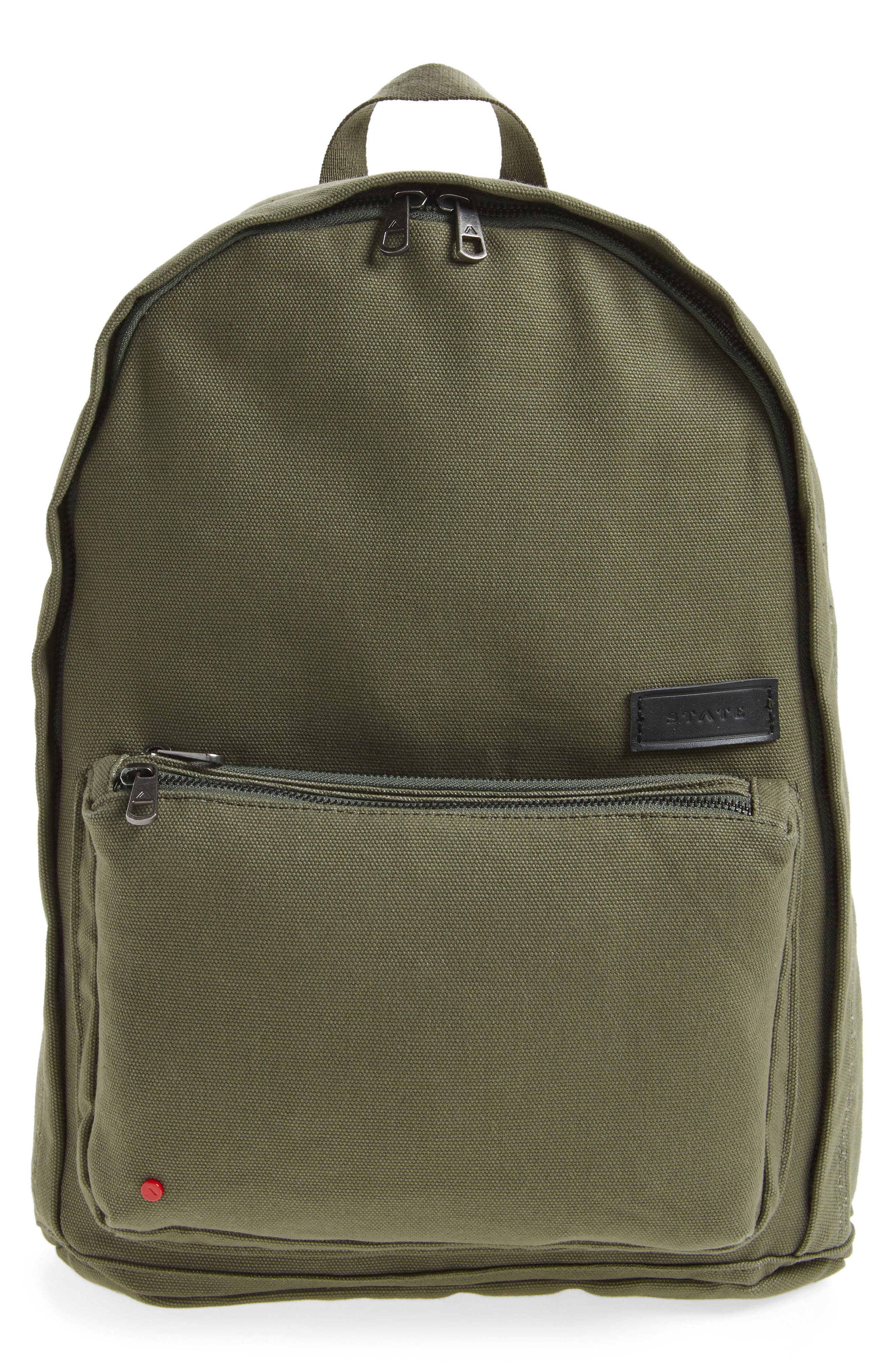 STATE Bags Park Slope Lorimer Water Resistant Canvas Backpack