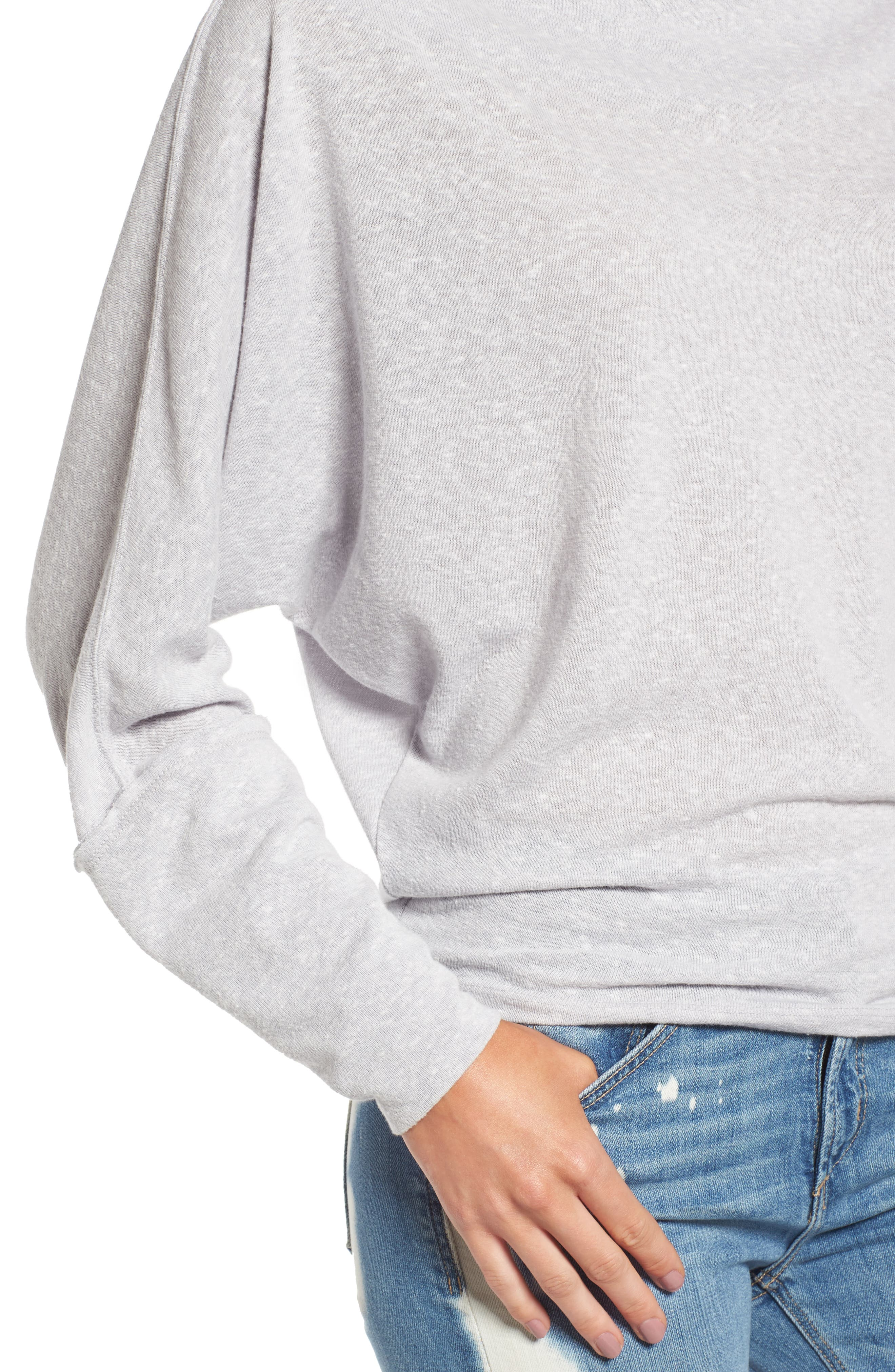 Alternate Image 4  - Free People Valencia Off the Shoulder Pullover