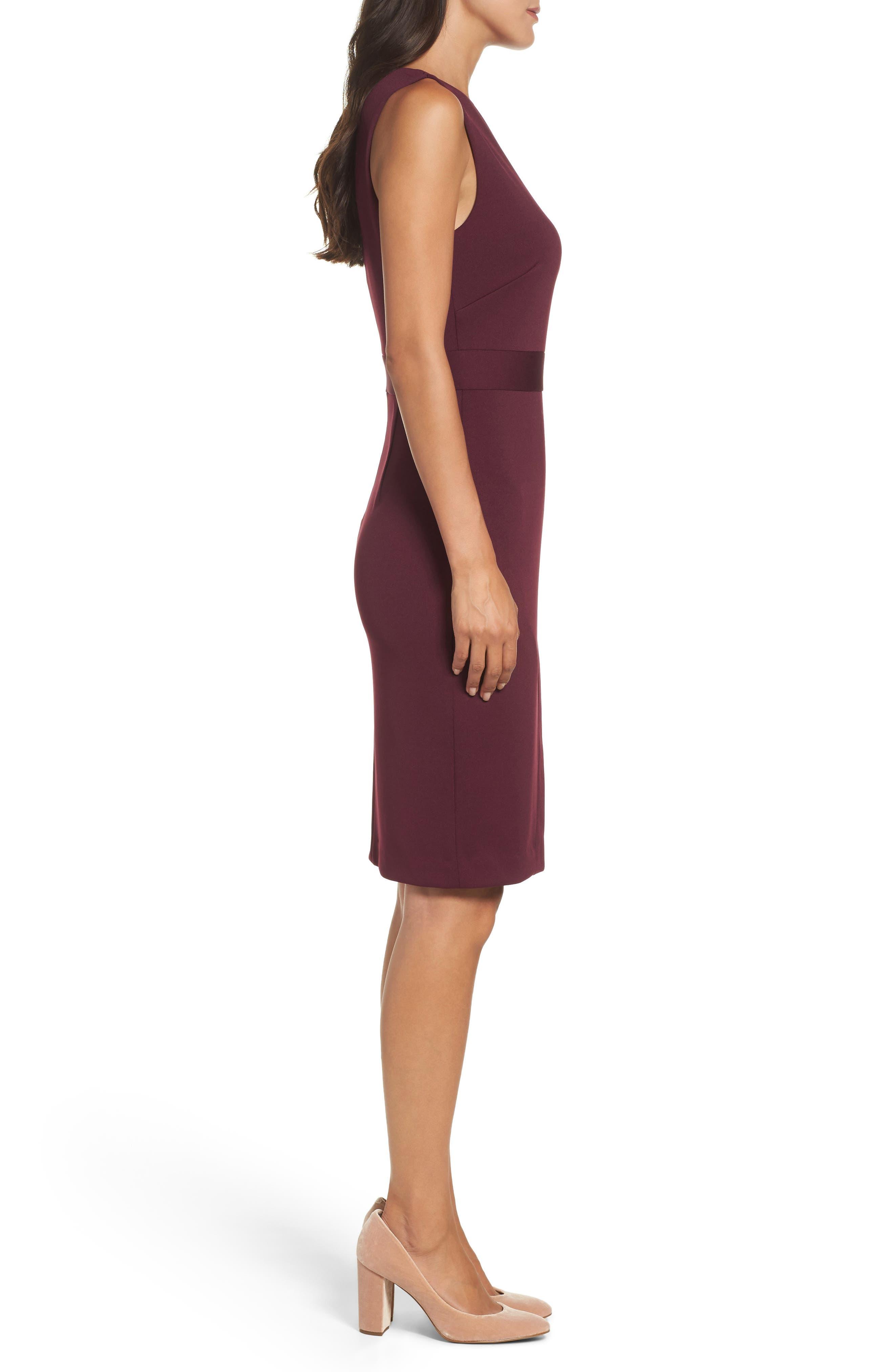 Alternate Image 3  - Maggy London Scissor Sheath Dress