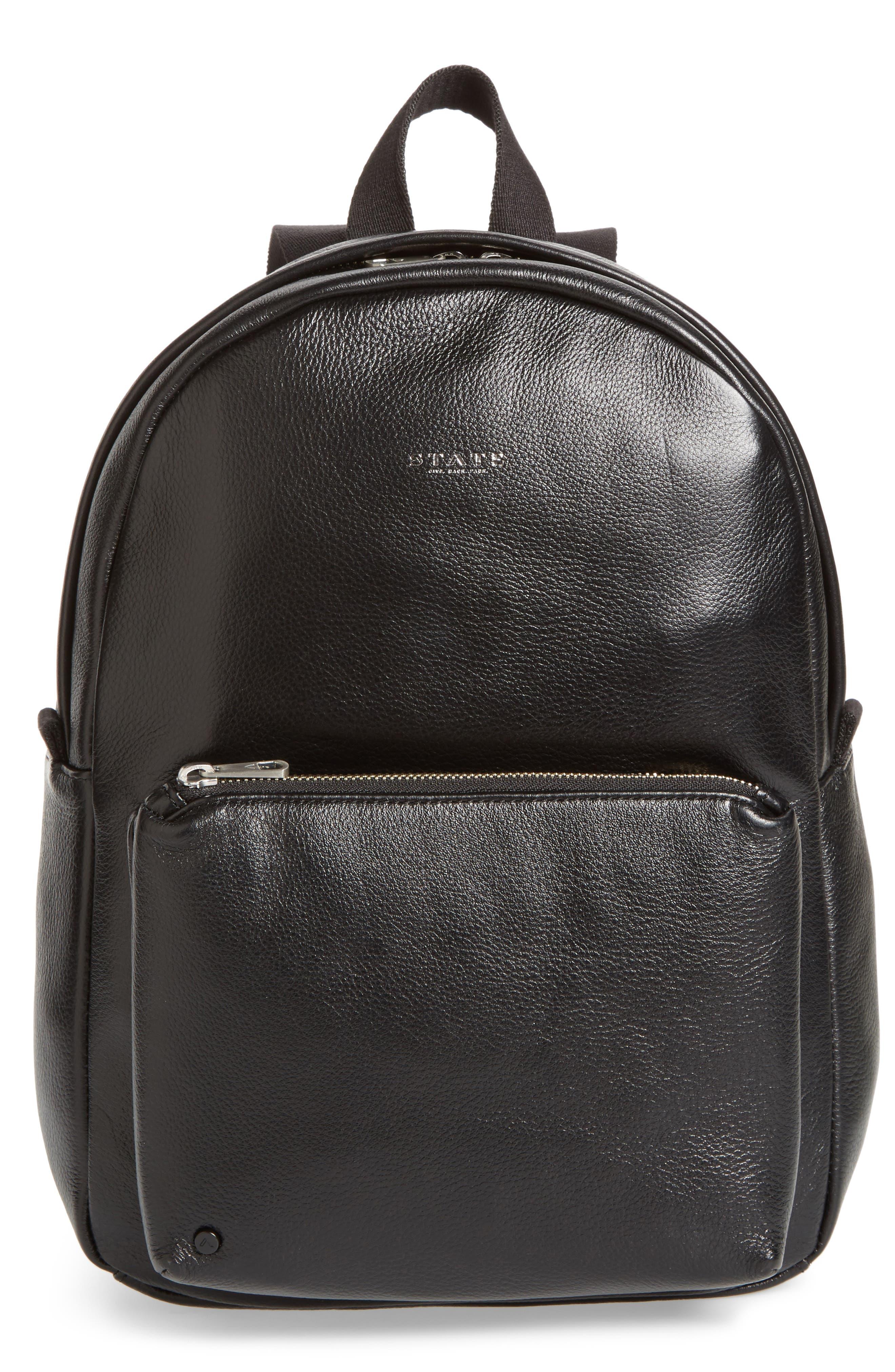 STATE Bags Greenwood Mini Lorimer Leather Backpack