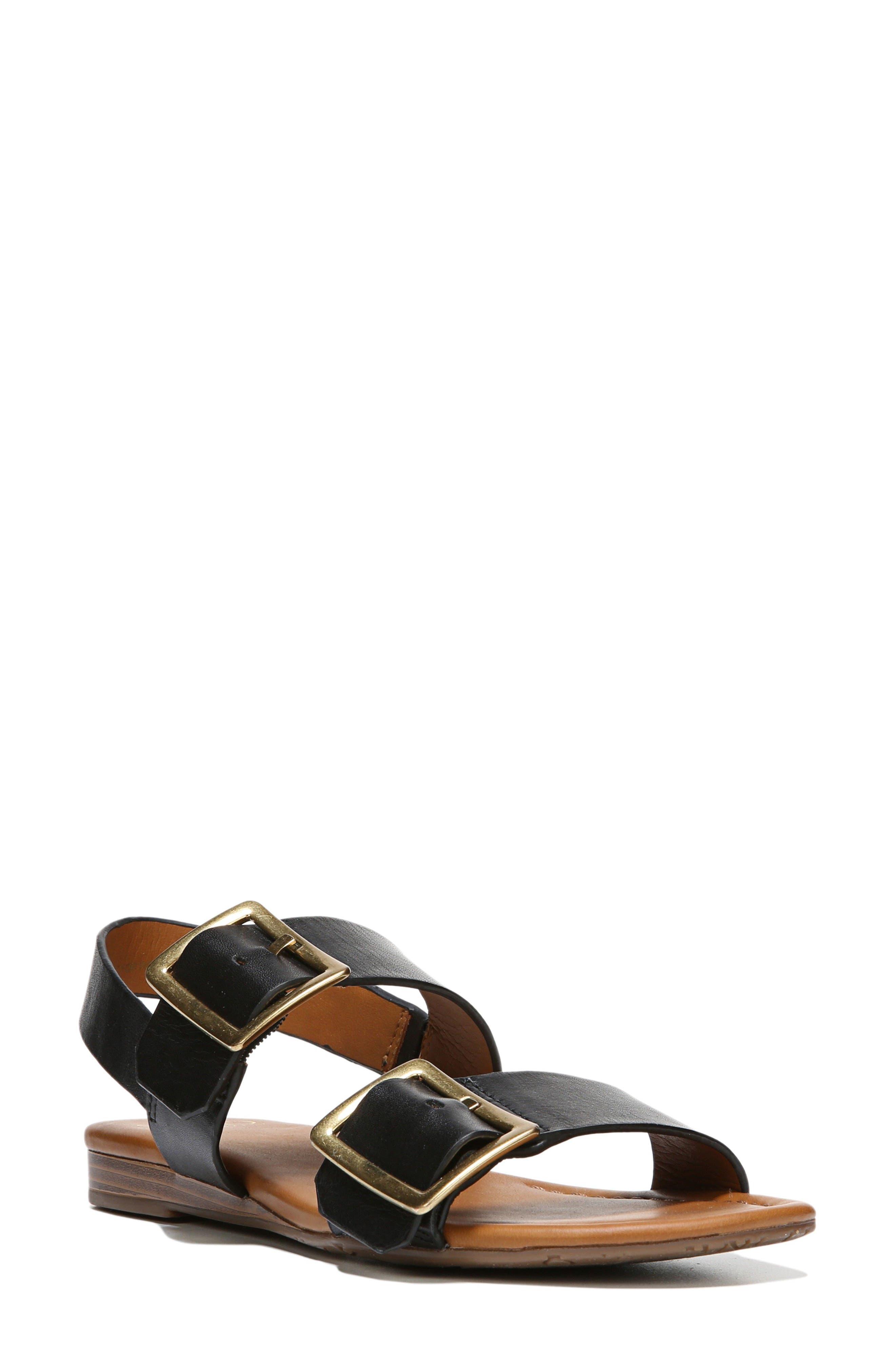 SARTO by Franco Sarto Gannon Slingback Buckle Sandal (Women)