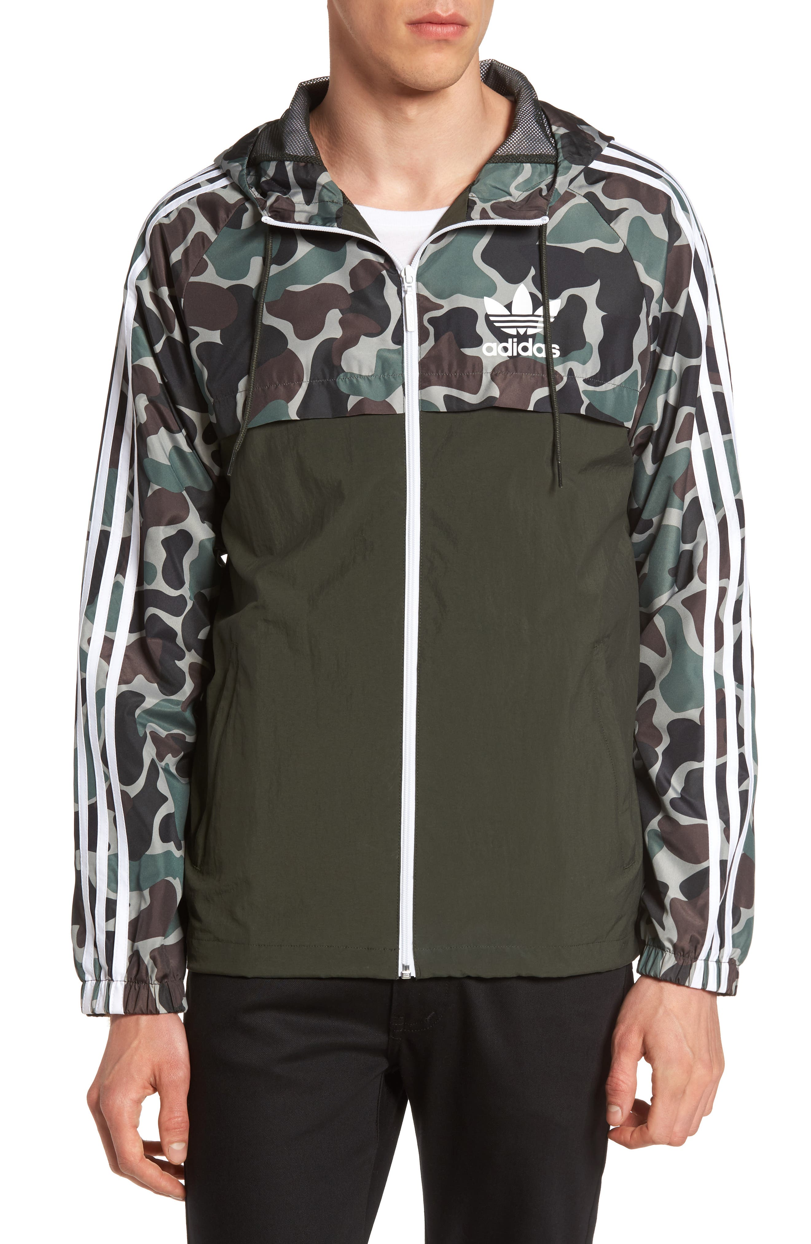 adidas Originals Reversible Windbreaker
