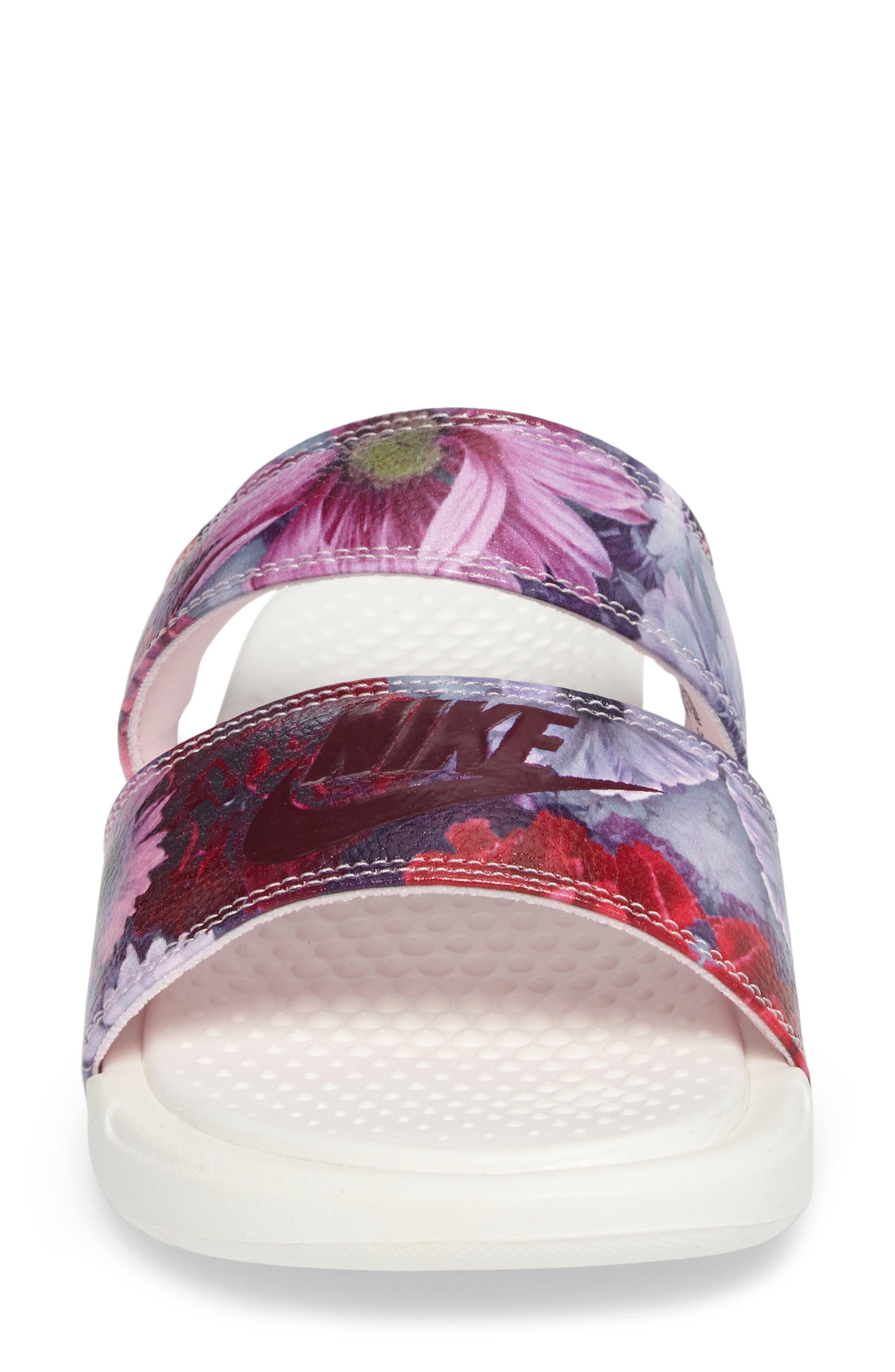 Alternate Image 4  - Nike Benassi Duo Ultra Slide Sandal (Women)