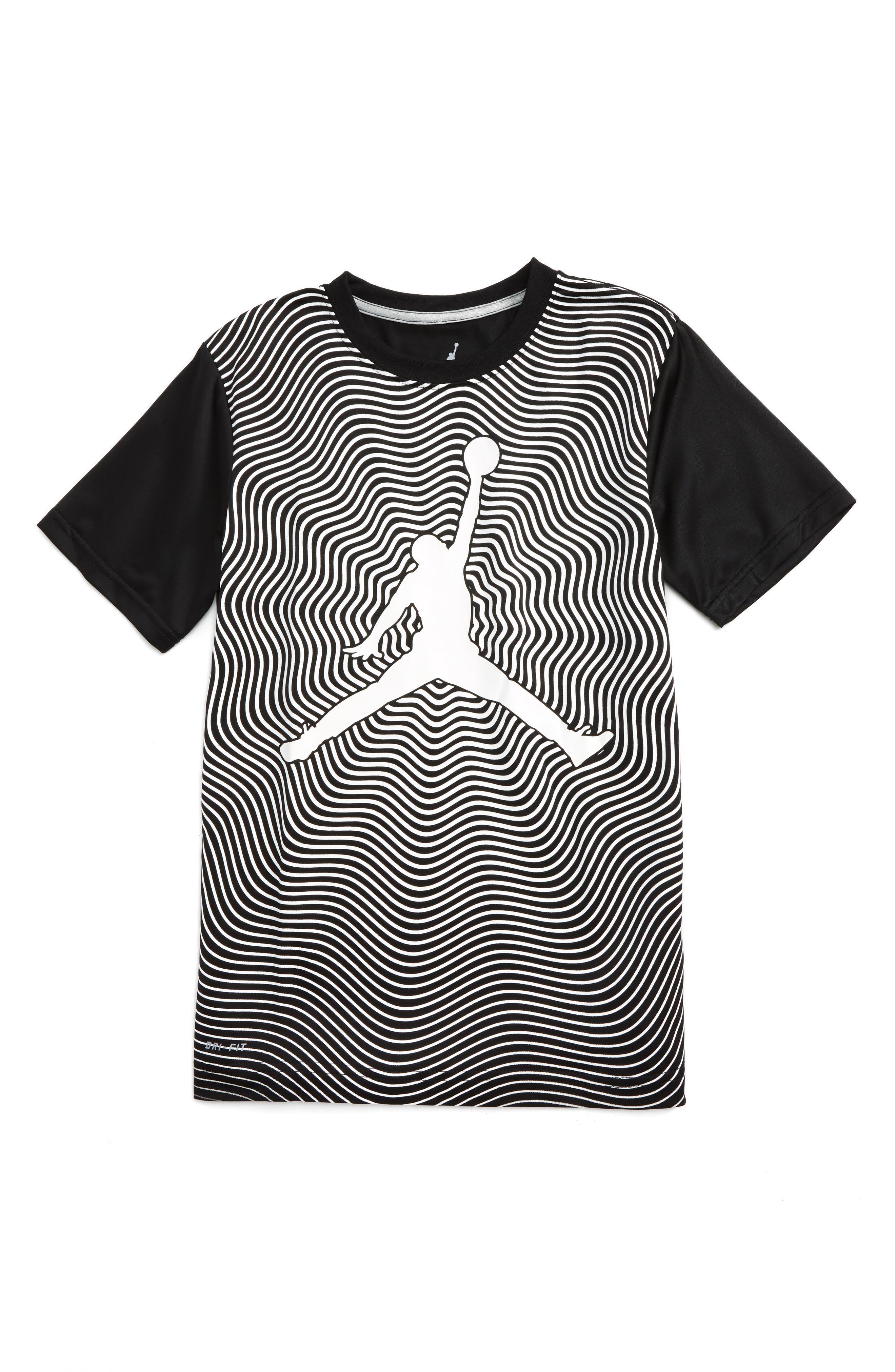 Jordan In the Flow Graphic Dri-FIT T-Shirt (Big Boys)