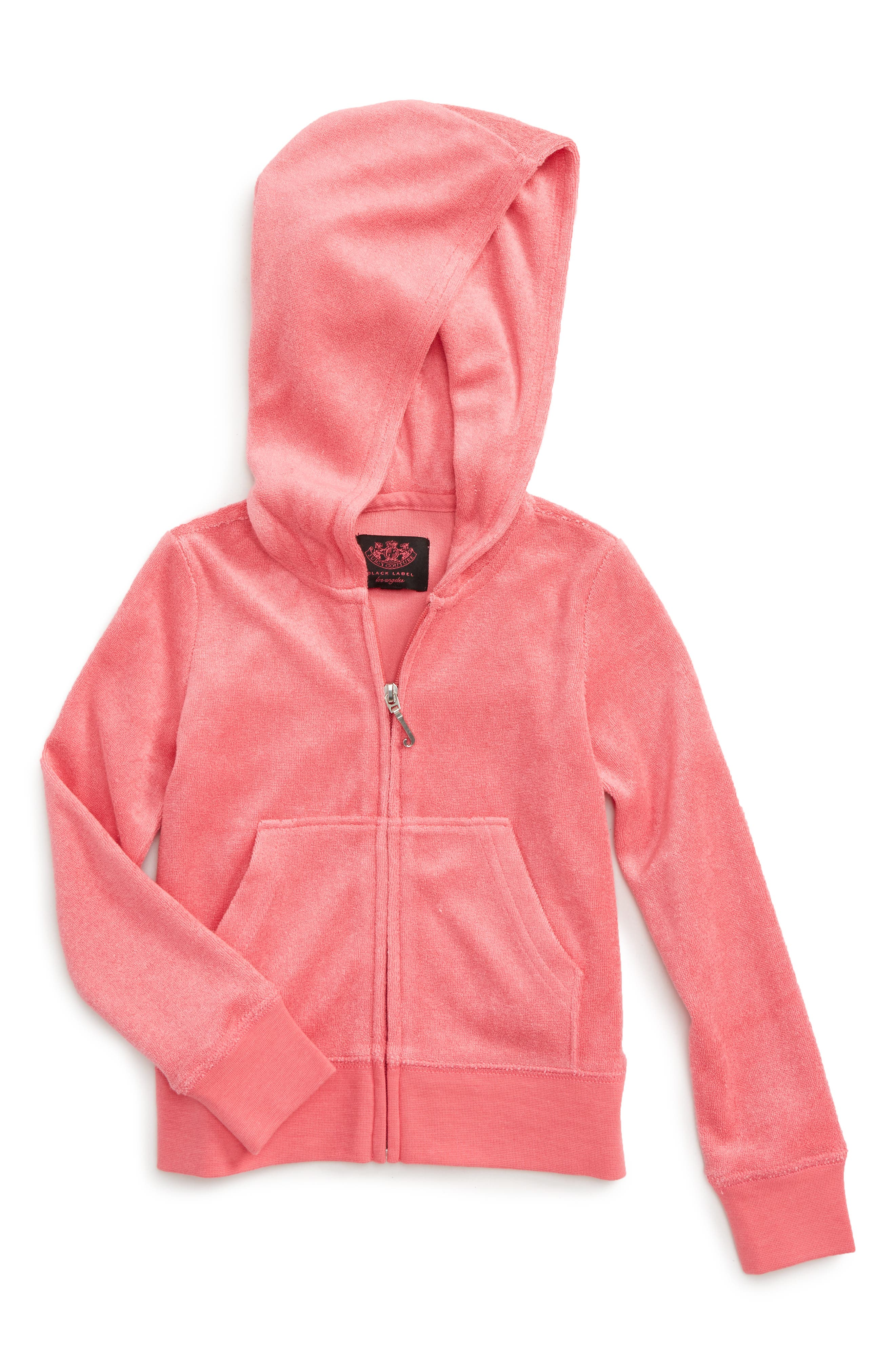 Juicy Couture Robertson Microterry Hoodie (Toddler Girls & Little Girls)