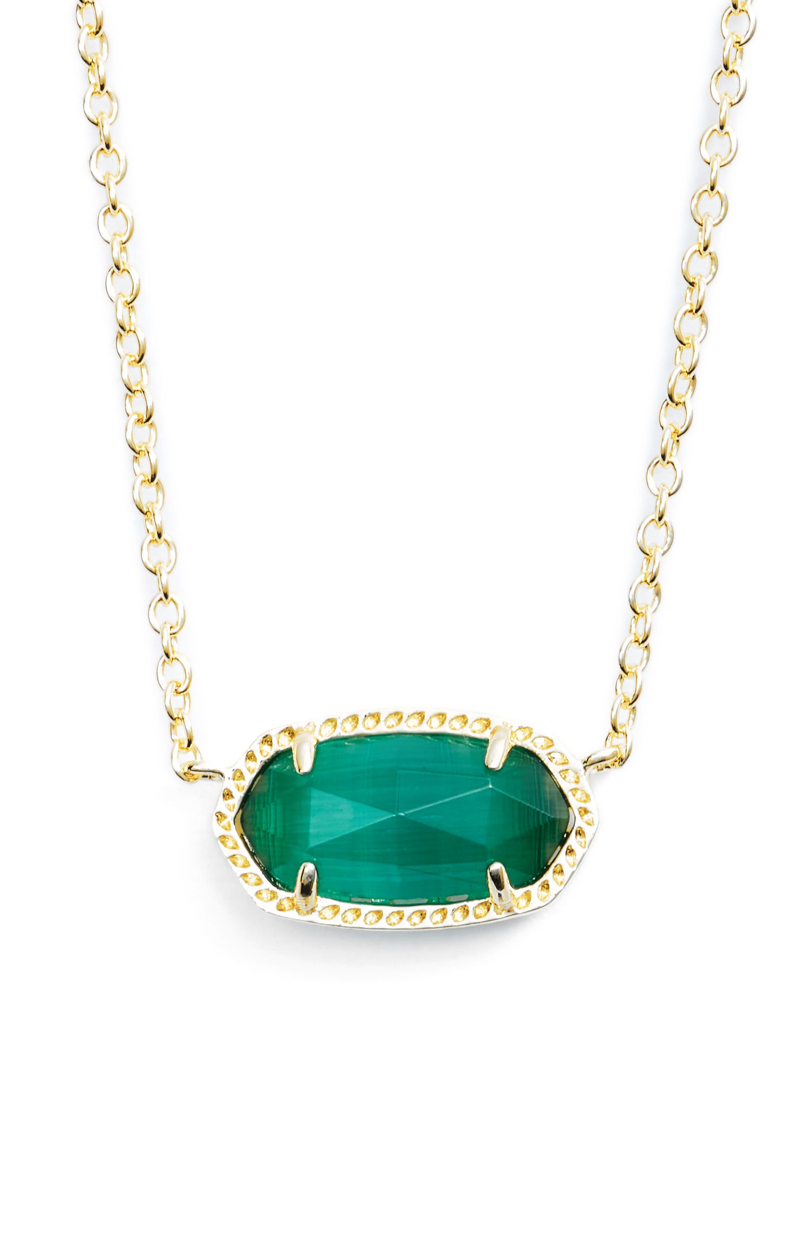 Alternate Image 1 Selected - Kendra Scott Elisa Birthstone Pendant Necklace