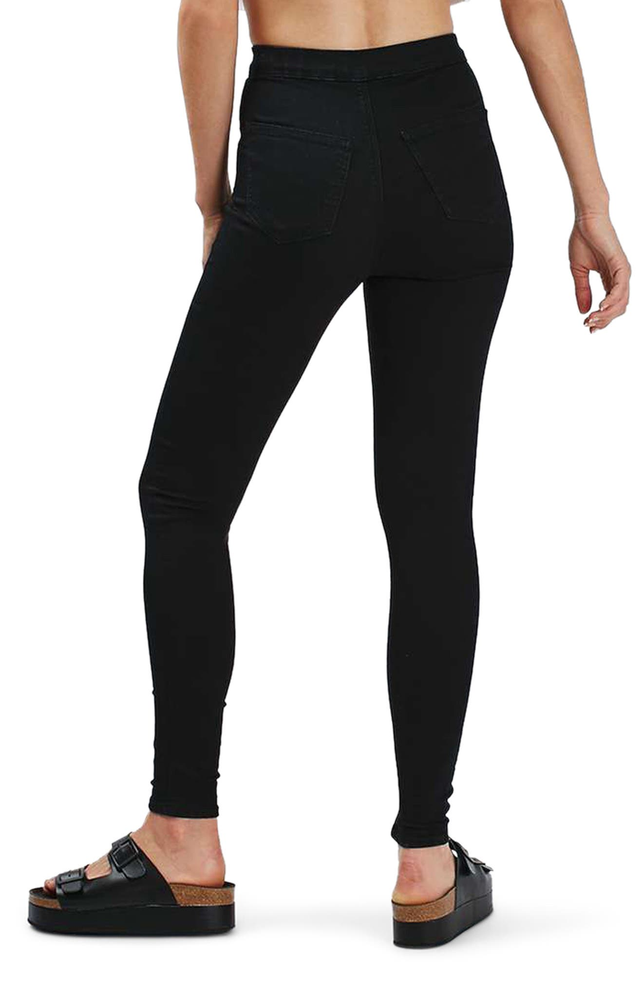 Alternate Image 3  - Topshop Joni High Waist Skinny Jeans