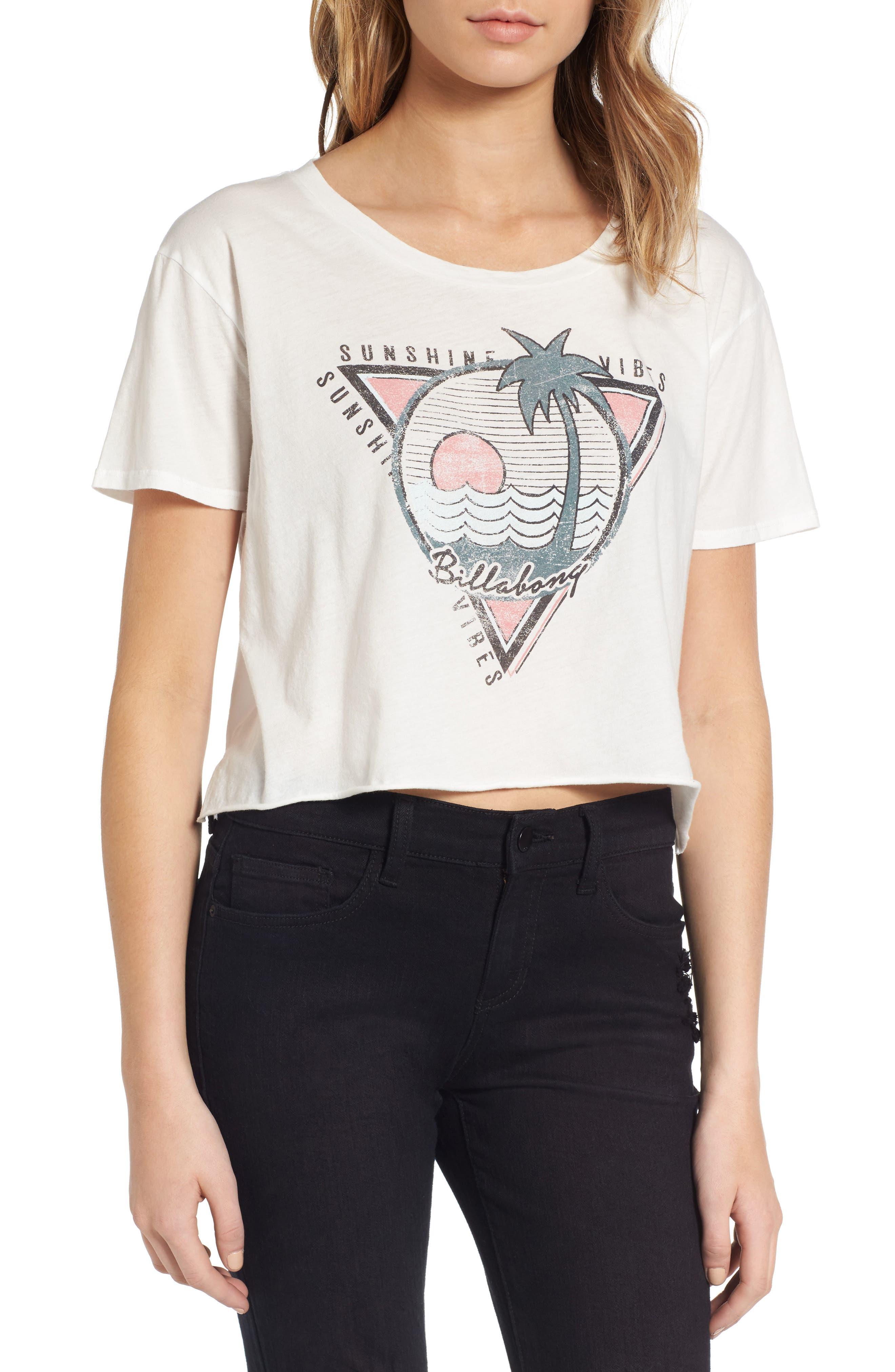 Billabong Local Favorite Graphic Crop Tee