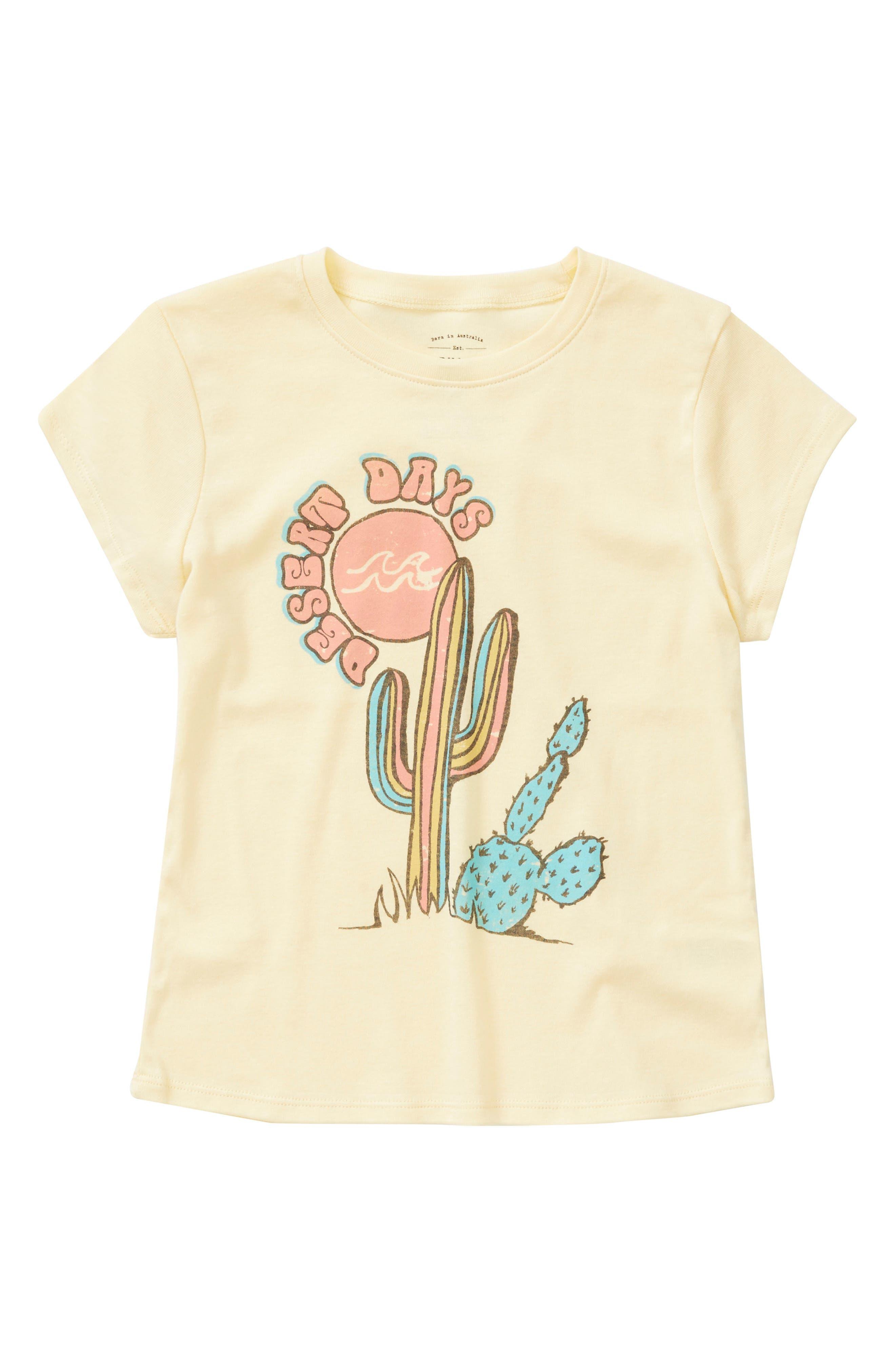 Billabong Desert Days Graphic Tee (Little Girls & Big Girls)