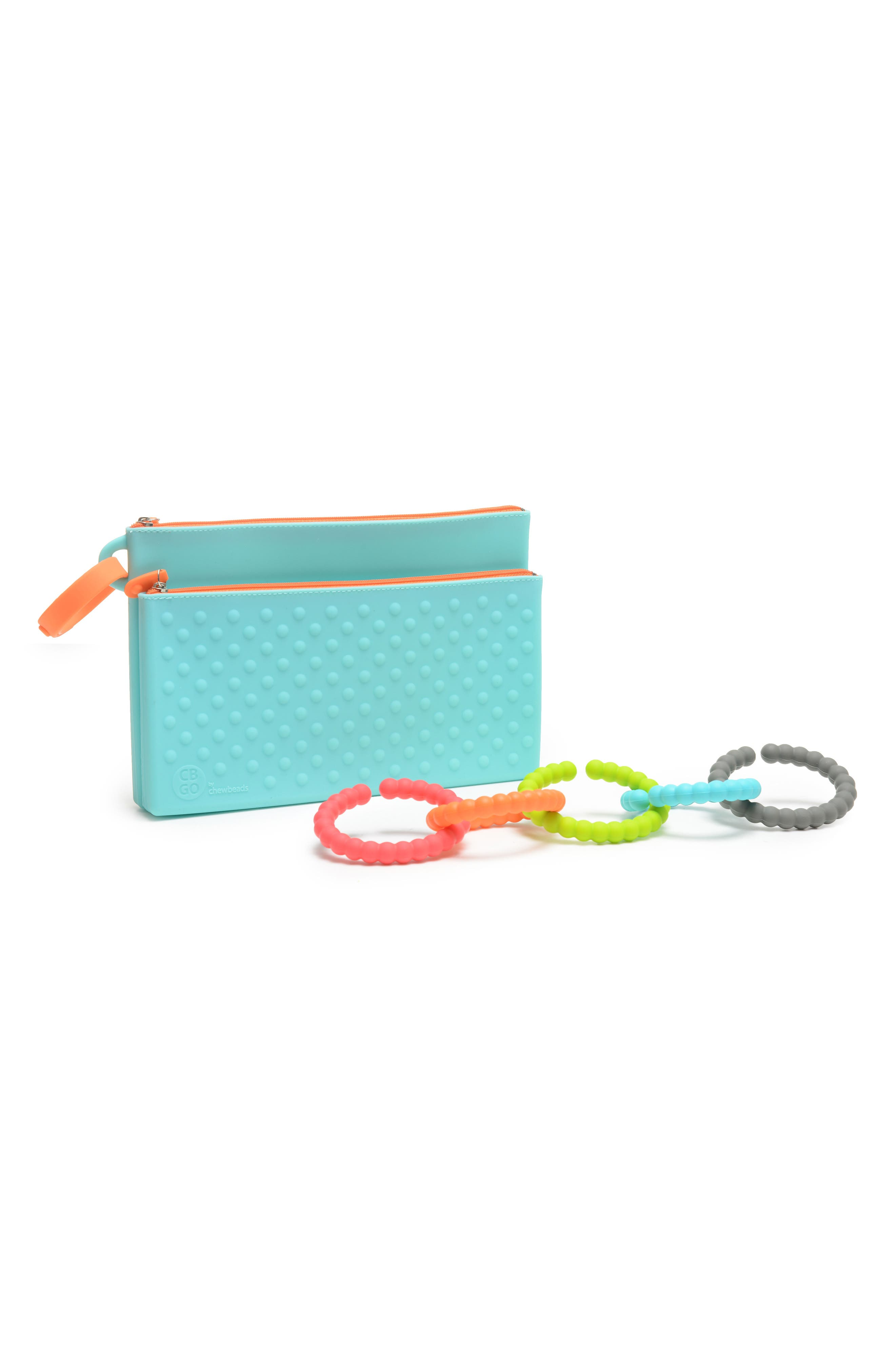 Chewbeads GO Wipes Case & Teething Links Set (Baby)