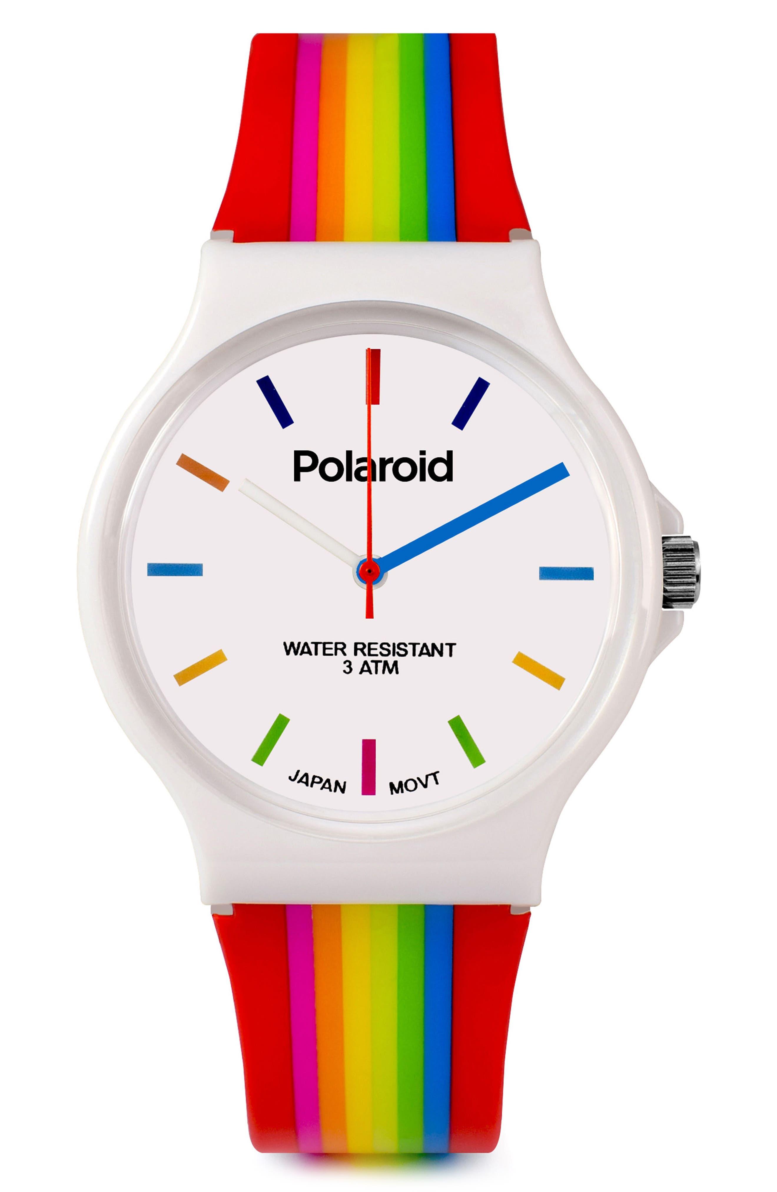 Polaroid Rubber Strap Watch, 35mm