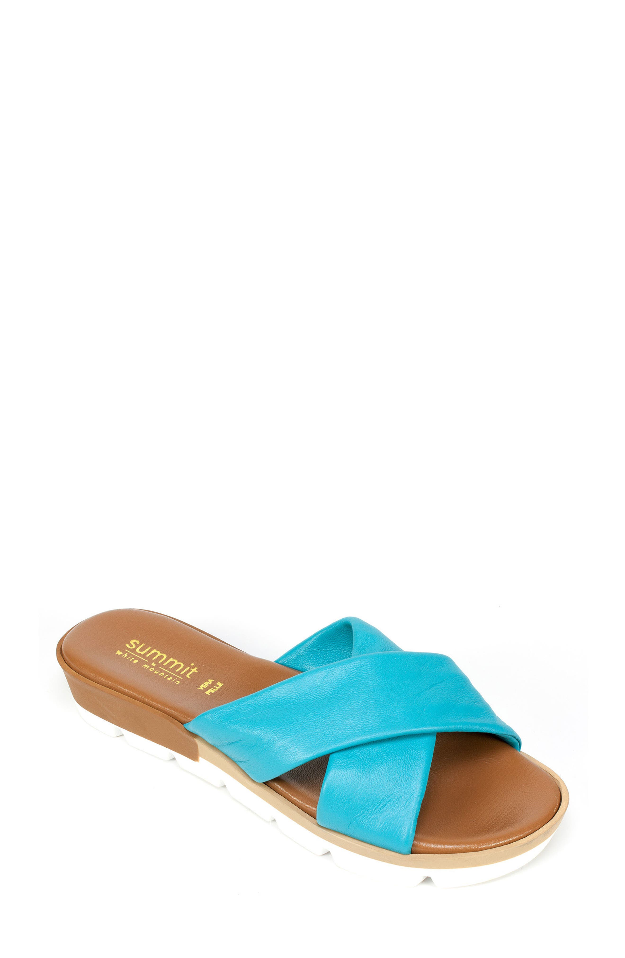 Summit Floretta Platform Slide Sandal (Women)