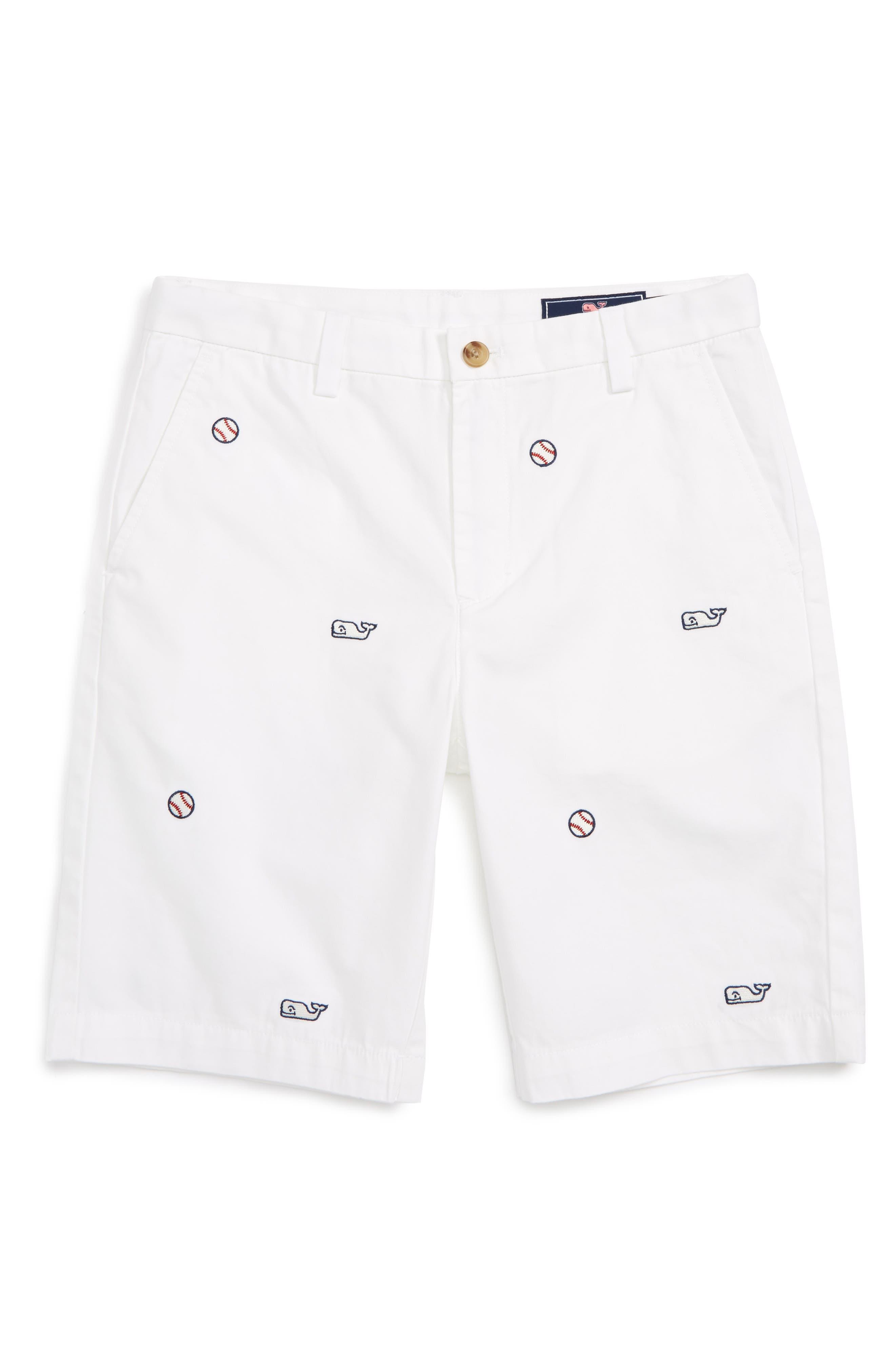 Vineyard Vines Sports Embroidered Breaker Shorts (Toddler Boys, Little Boys & Big Boys)
