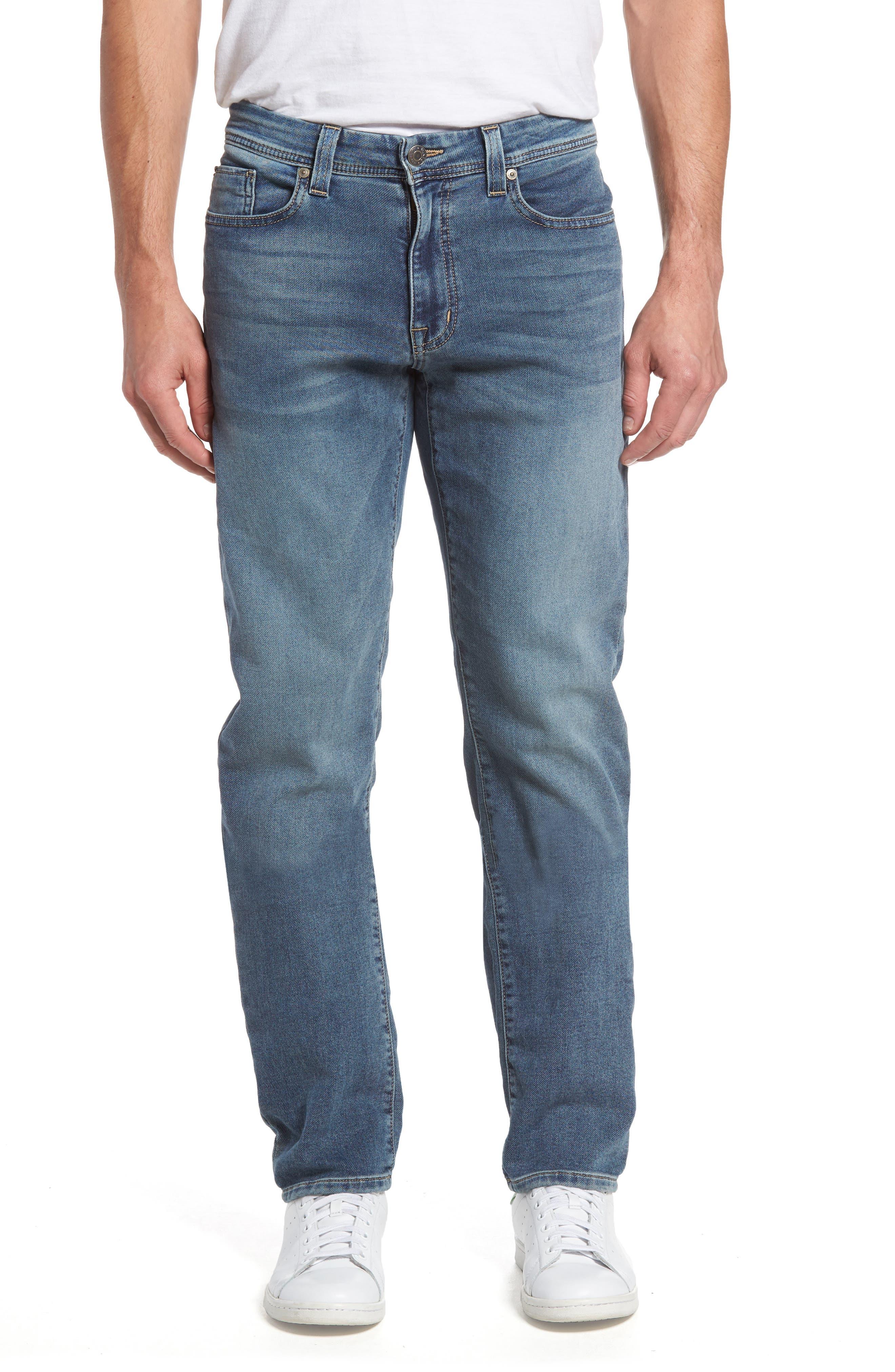 Fidelity Denim Jimmy Slim Straight Leg Jeans (Oxy Vox Vintage)