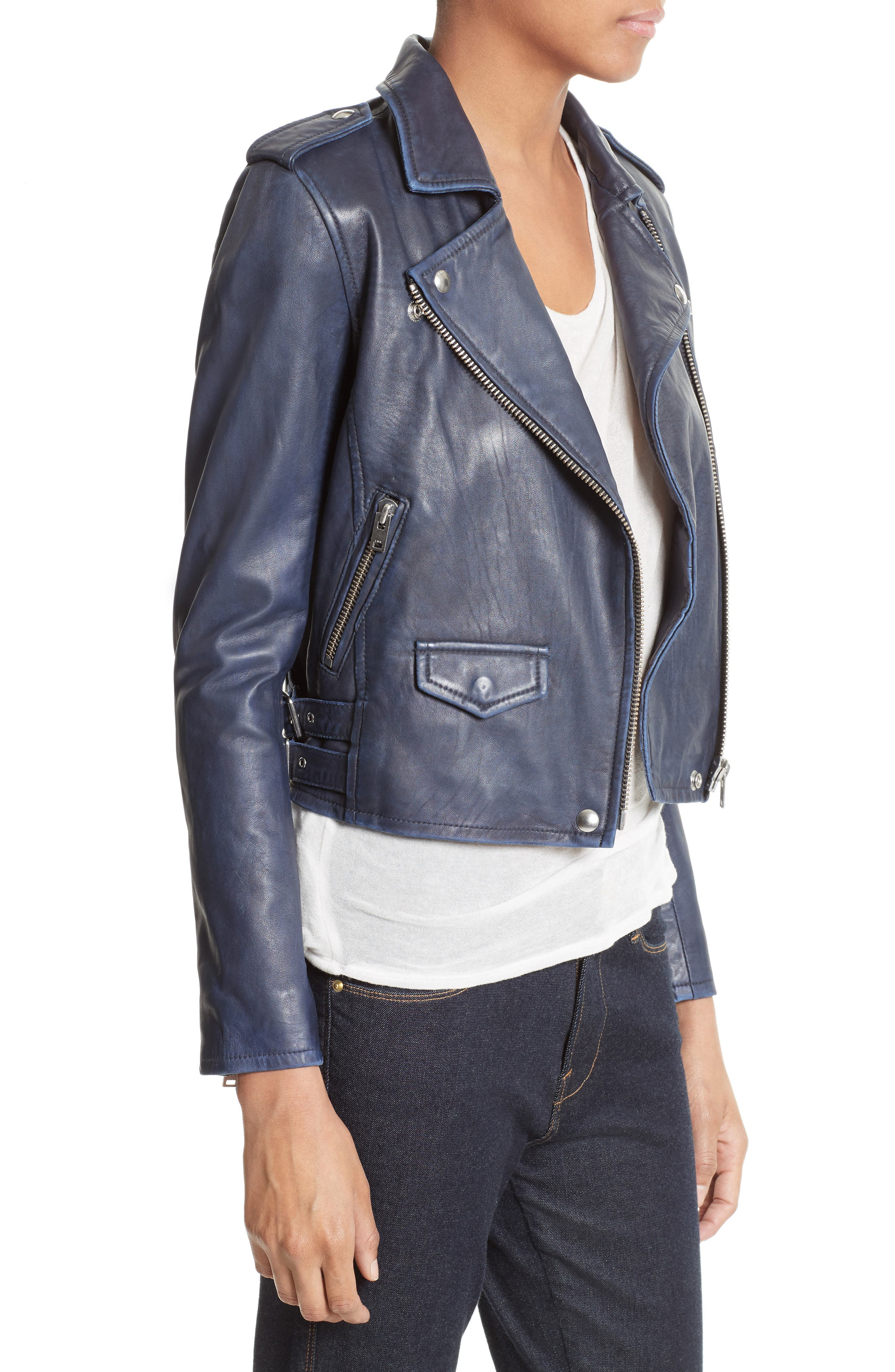 Alternate Image 3  - IRO 'Ashville' Leather Jacket