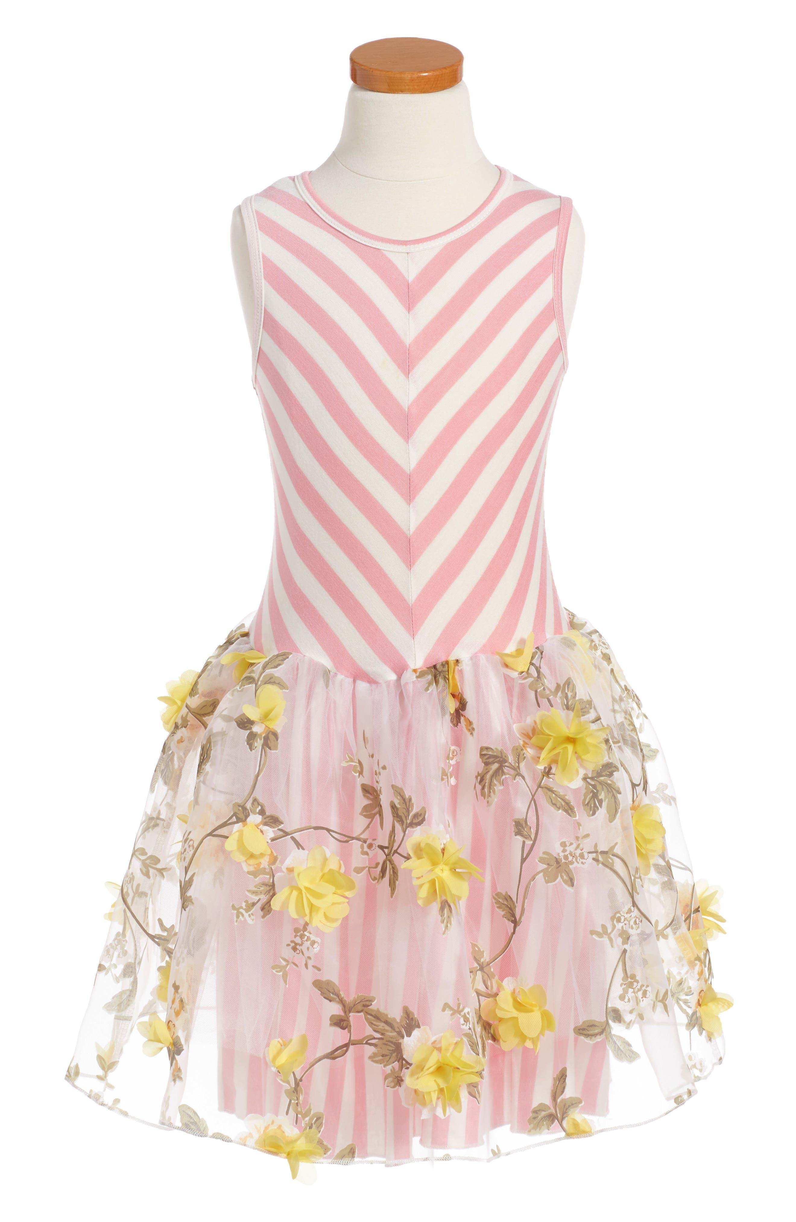 Twirls & Twigs Fit & Flare Dress (Toddler Girls, Little Girls & Big Girls)