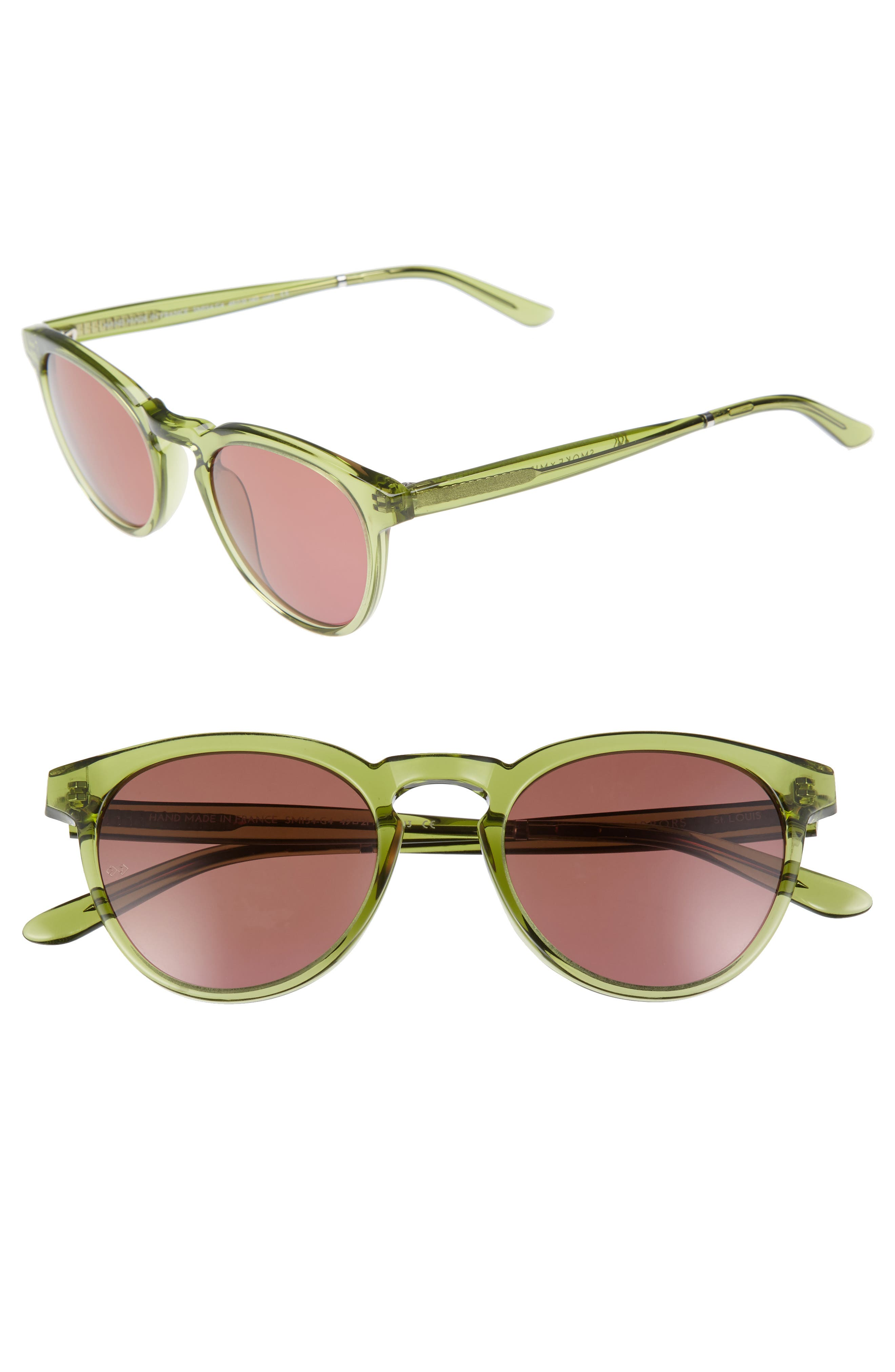 SMOKE X MIRRORS St. Louis 49mm Retro Sunglasses
