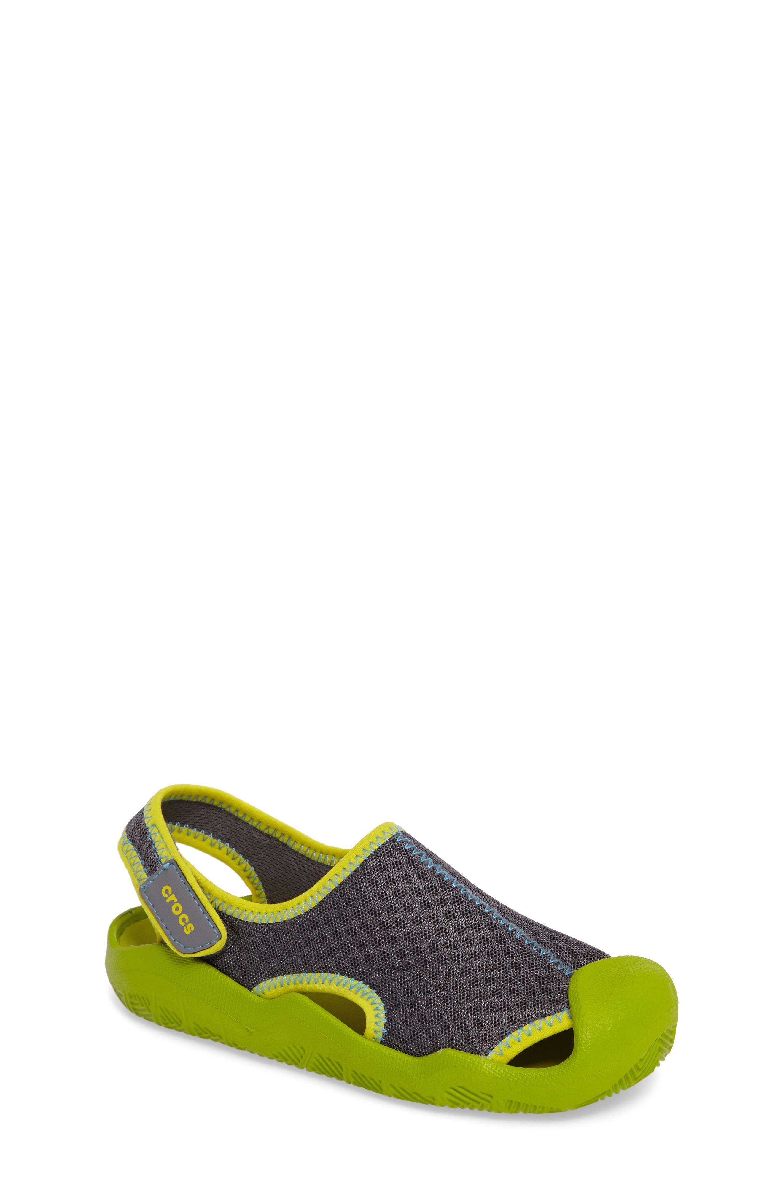 CROCS™ Swiftwater Sandal (Walker, Toddler & Little Kid)