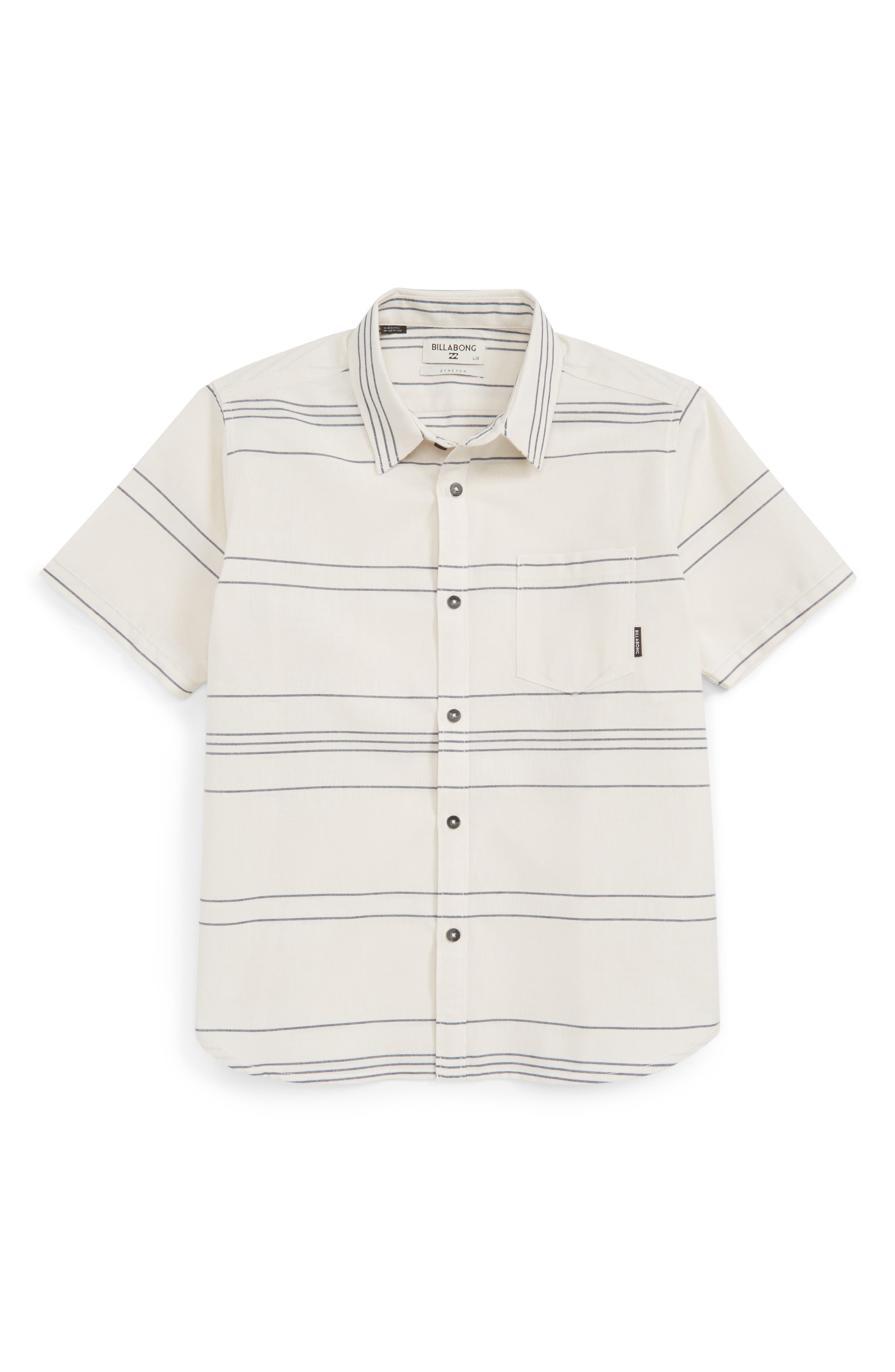 Billabong Flat Lines Woven Shirt (Big Boys)
