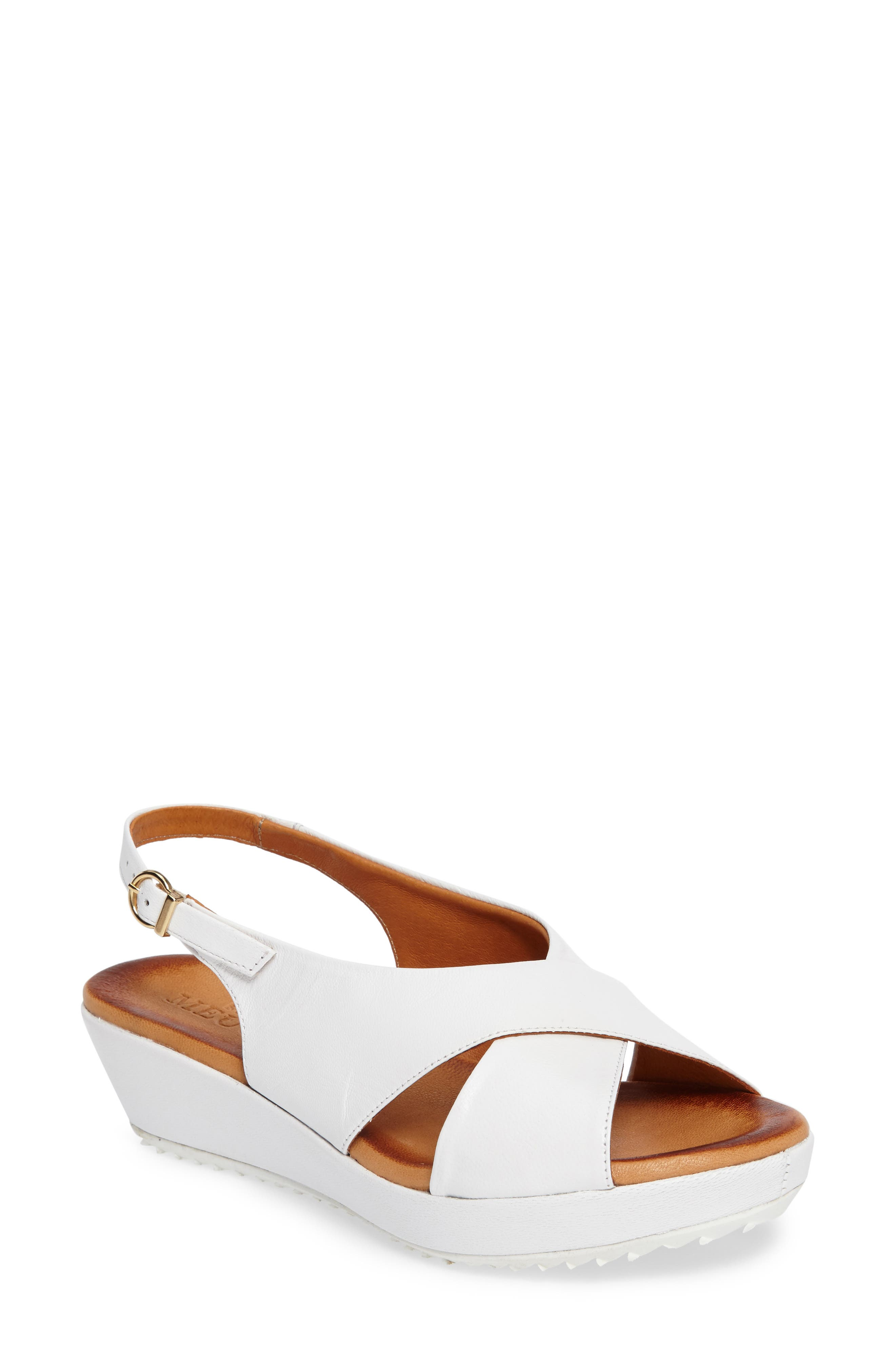 Sesto Meucci Bean Slingback Wedge Sandal (Women)