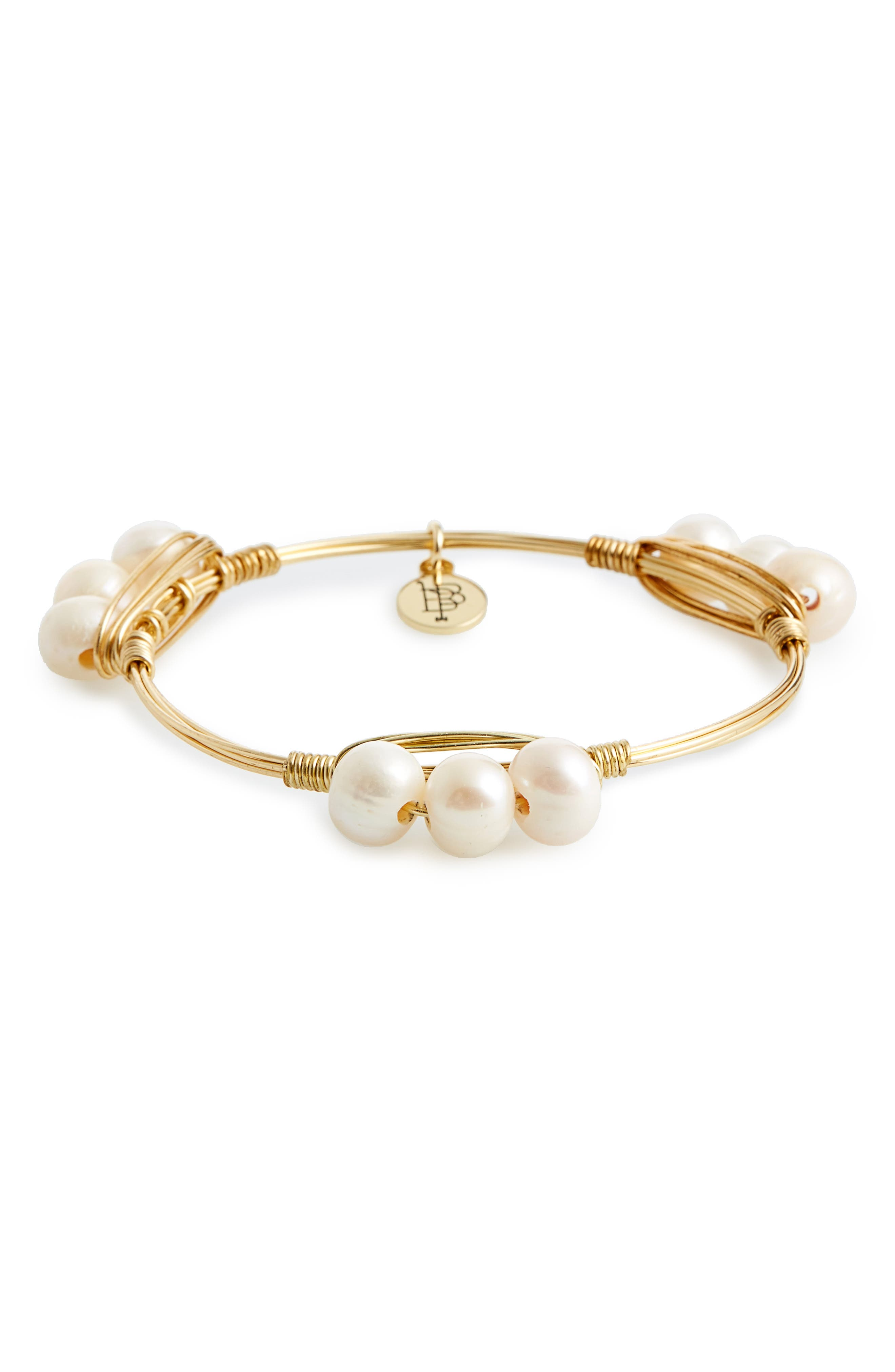 Bourbon and Boweties Cultured Pearl Bracelet
