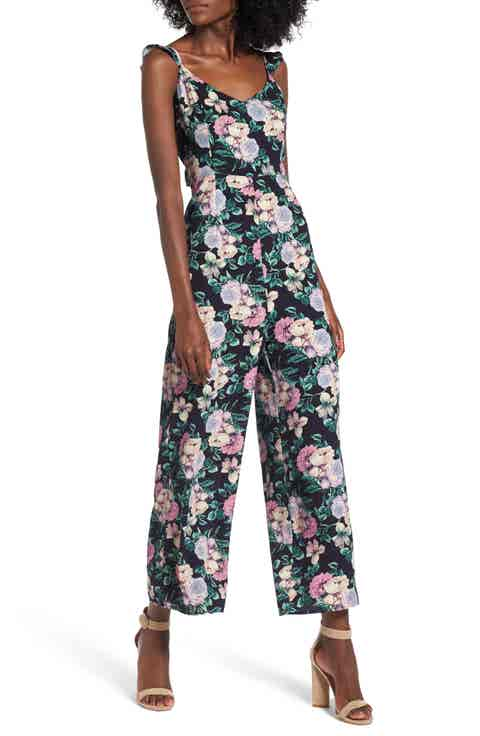Leith Ruffle Strap Jumpsuit