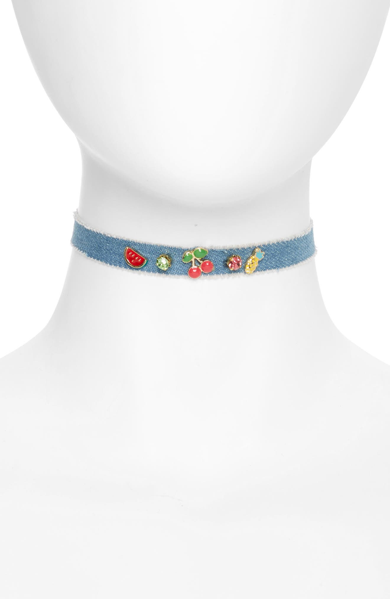 Cara Fruit Charm Choker (Girls)